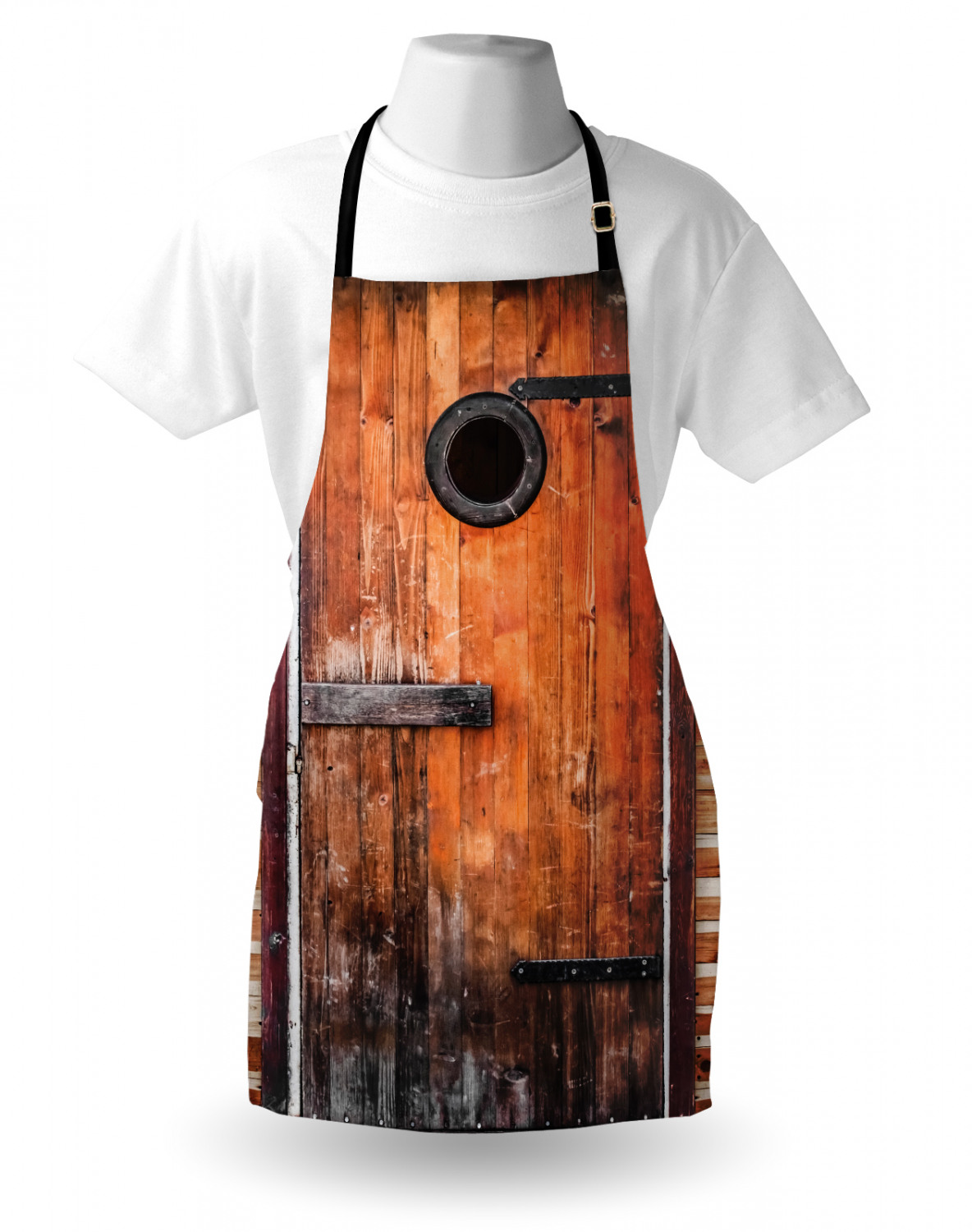 Ambesonne Apron Bib with Adjustable Neck for Adult Size Gardening