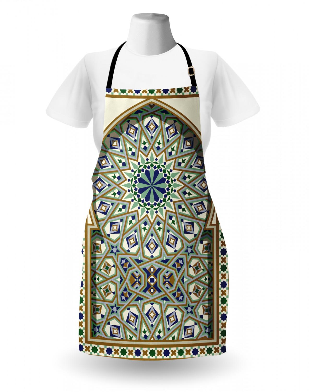 Gothic Apron Unisex Kitchen Bib with Adjustable Neck Cooking Baking