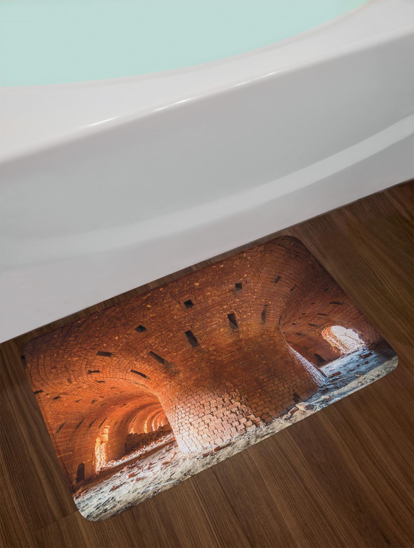 "Tangerine Bath Mat Bathroom Decor Plush Non-Slip Mat 29.5/"" X 17.5/"""