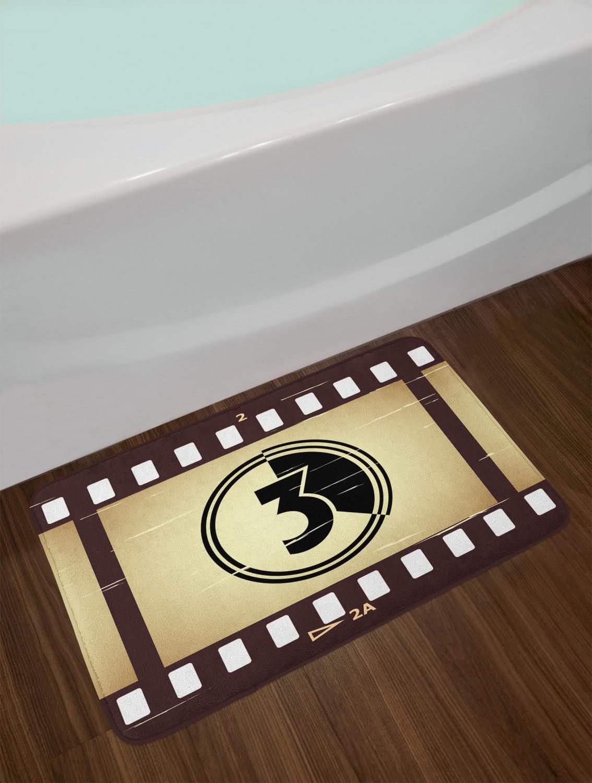 """Old Hollywood Bath Mat Bathroom Home Decor Plush Non-Slip Mat 29.5/"""" X 17.5/"""""""