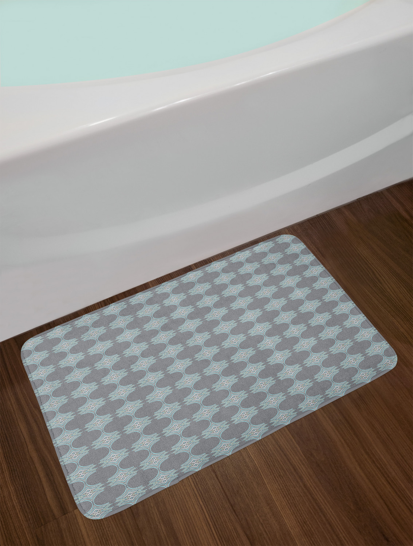 "Yellow Retro Bath Mat Bathroom Home Decor Plush Non-Slip Mat 29.5/"" X 17.5/"""