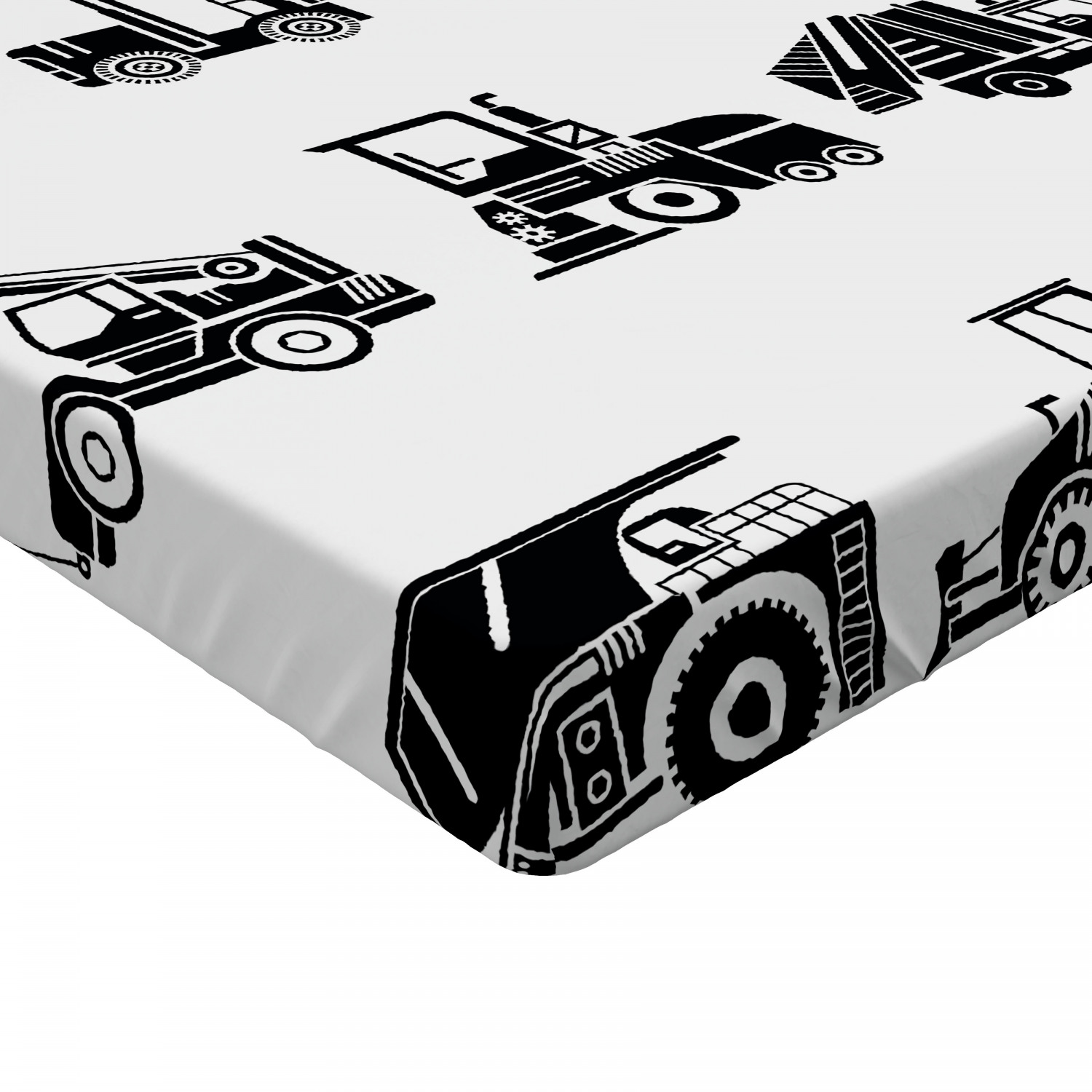 Boys Fitted Sheet Cover with All-Round Elastic Pocket in 4 Sizes