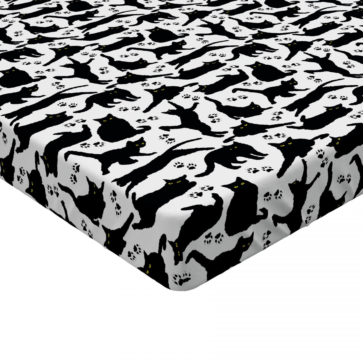 Pet Animals Fitted Sheet Cover with All-Round Elastic Pocket in 4 Sizes