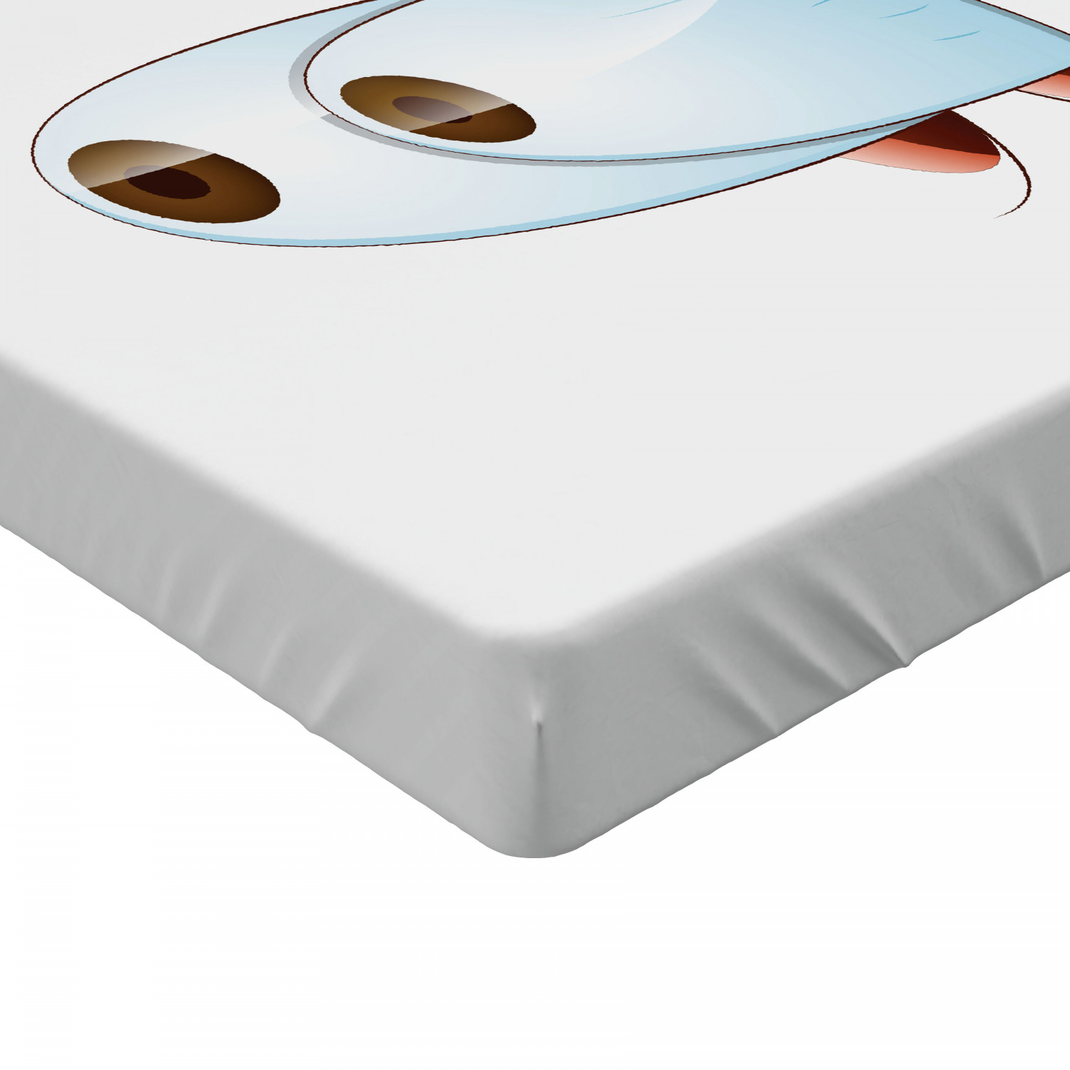 Eye Fitted Sheet Cover with All-Round Elastic Pocket in 4 Sizes