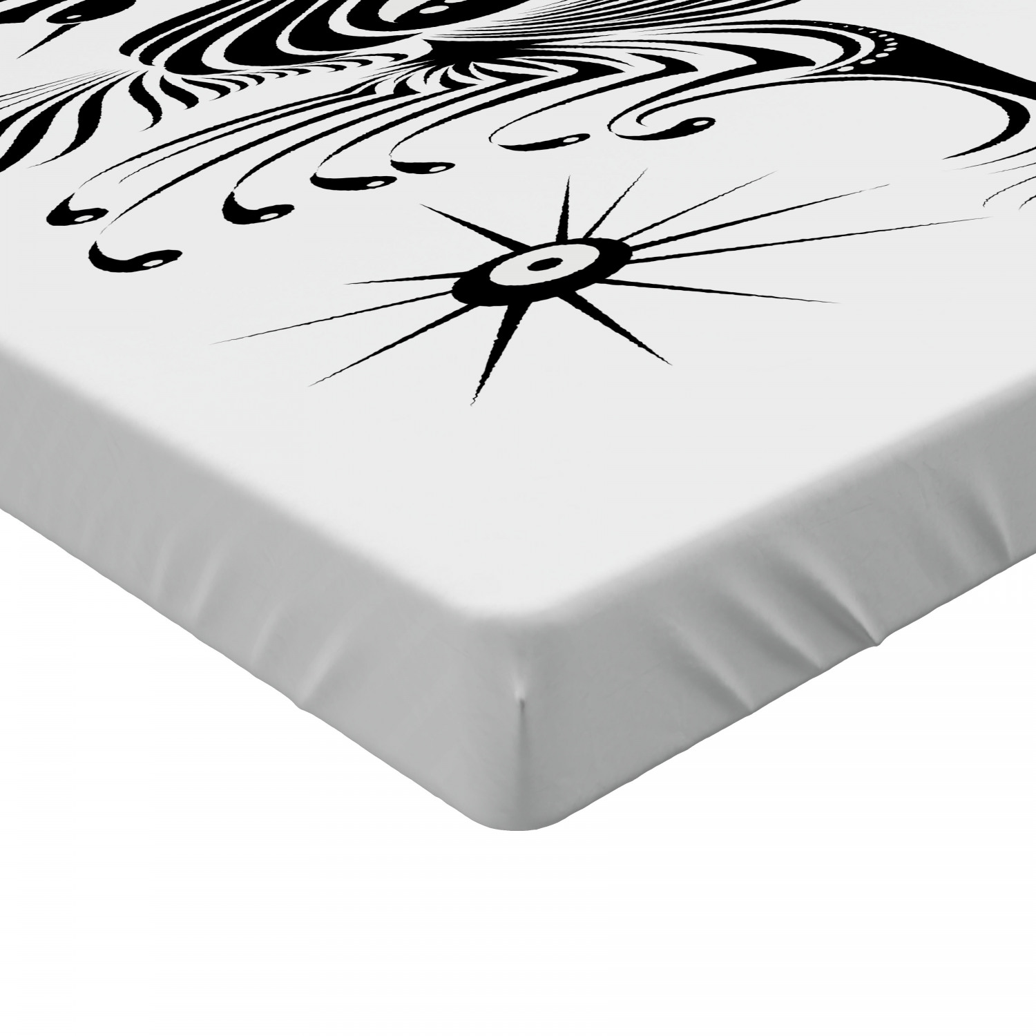Feather Fitted Sheet Cover with All-Round Elastic Pocket in 4 Sizes