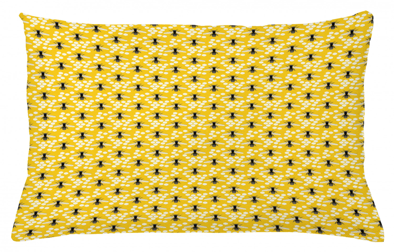 Muster von Buzzing Flies Reißverschluß Bienenkönigin Kissenbezug