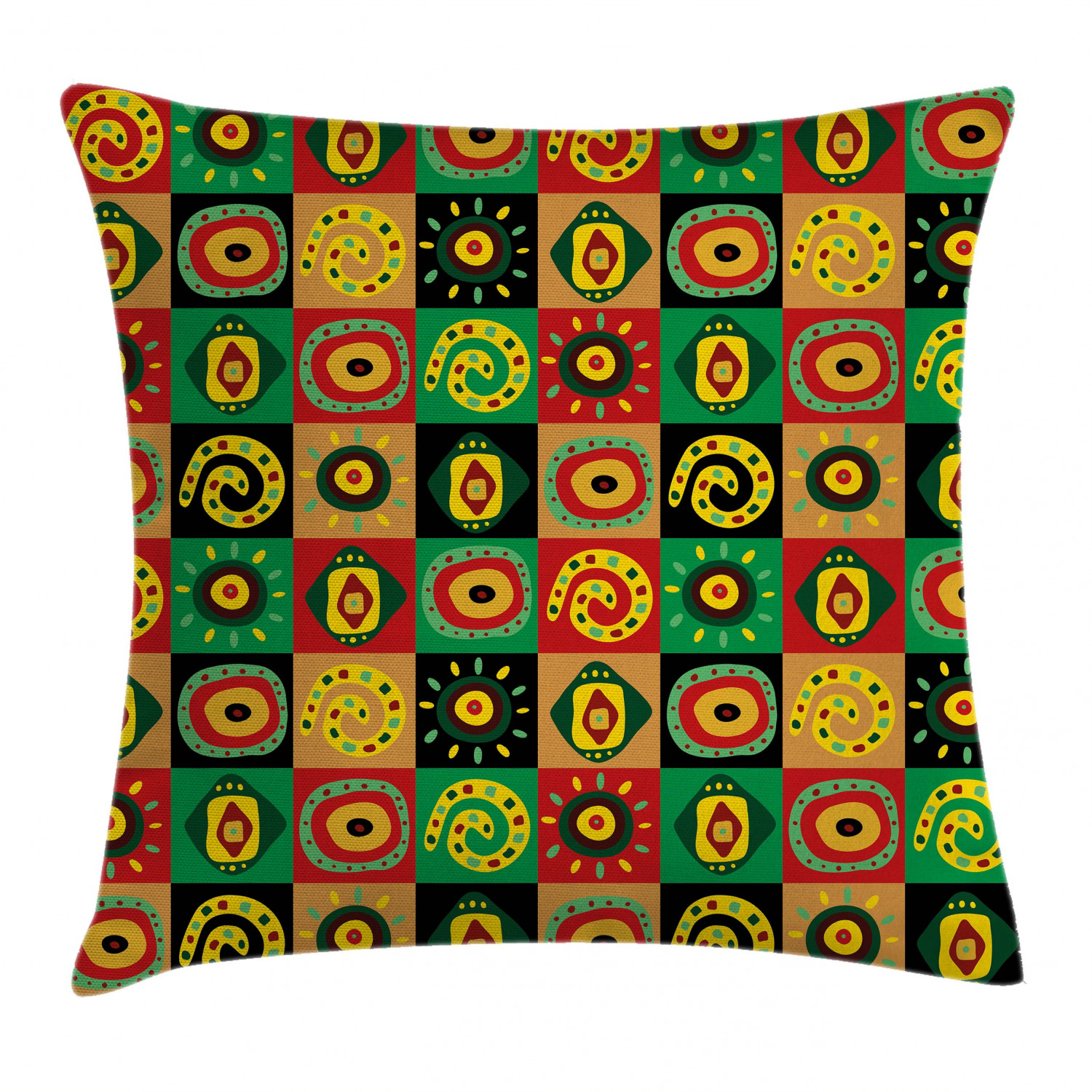 Modern Form Throw Pillow Cases Cushion Covers Home Decor 8 Sizes Ambesonne