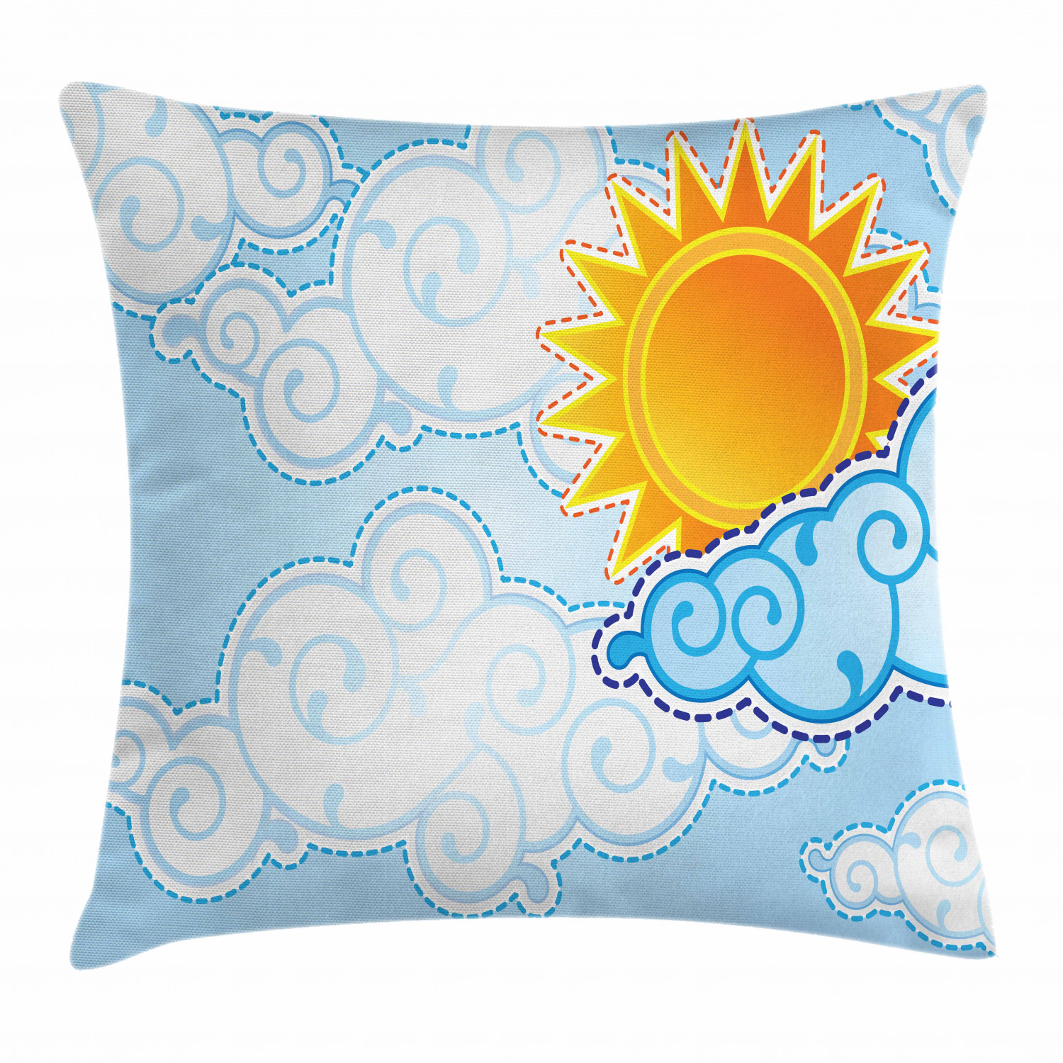 Eye Throw Pillow Cases Cushion Covers by Ambesonne Home Accent Decor 8 Sizes