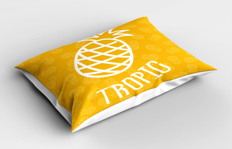Yellow Colors Pillow Sham Decorative Pillowcase 3 Sizes Bedroom Decoration