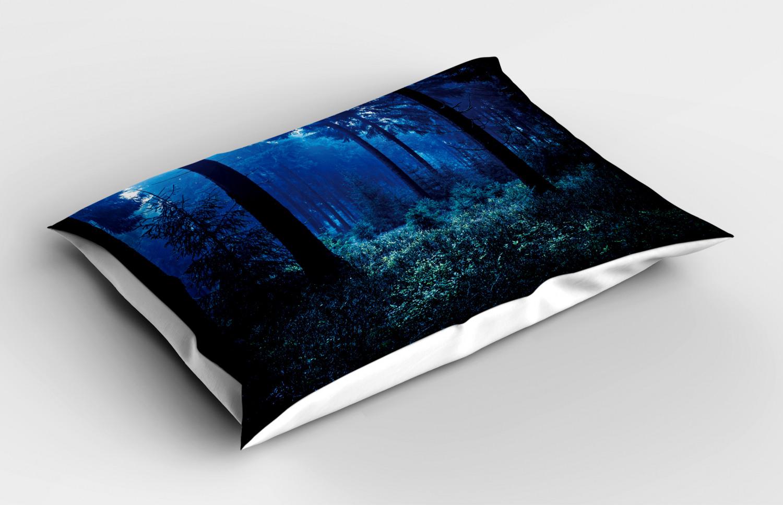 Night Pillow Sham Decorative Pillowcase 3 Sizes for Bedroom Decor