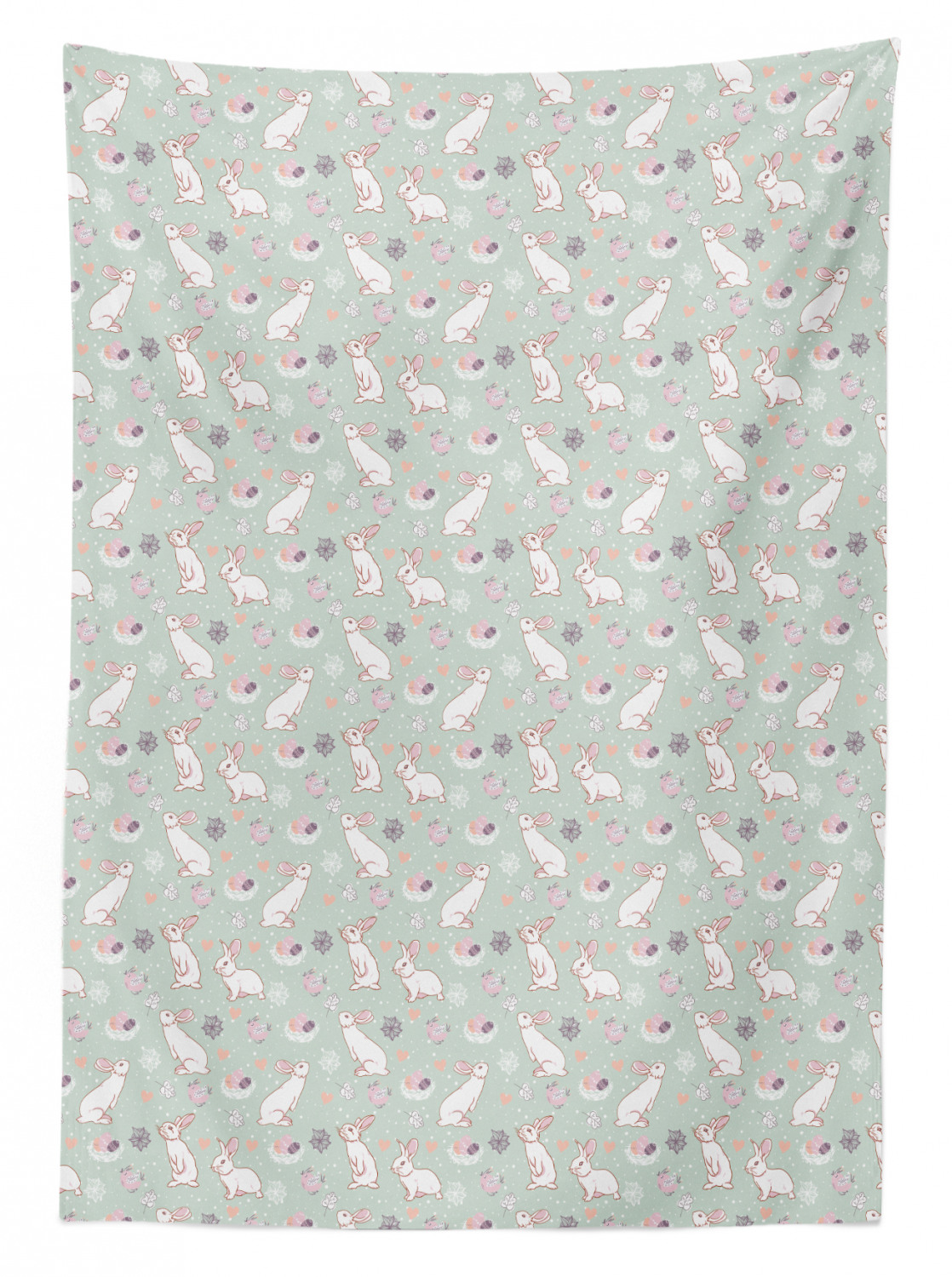 Easter Tablecloth Ambesonne 3 Sizes Available Rectangular Table Cover Home Decor