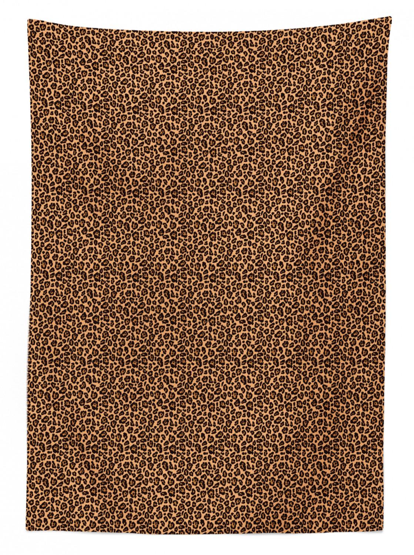 exotique africaine DESIGN Leopard-Pression Nappe