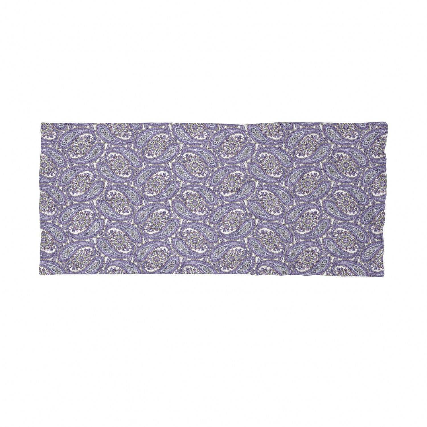Ambesonne Paisley Face Guard Neck Warmer for Face Protection