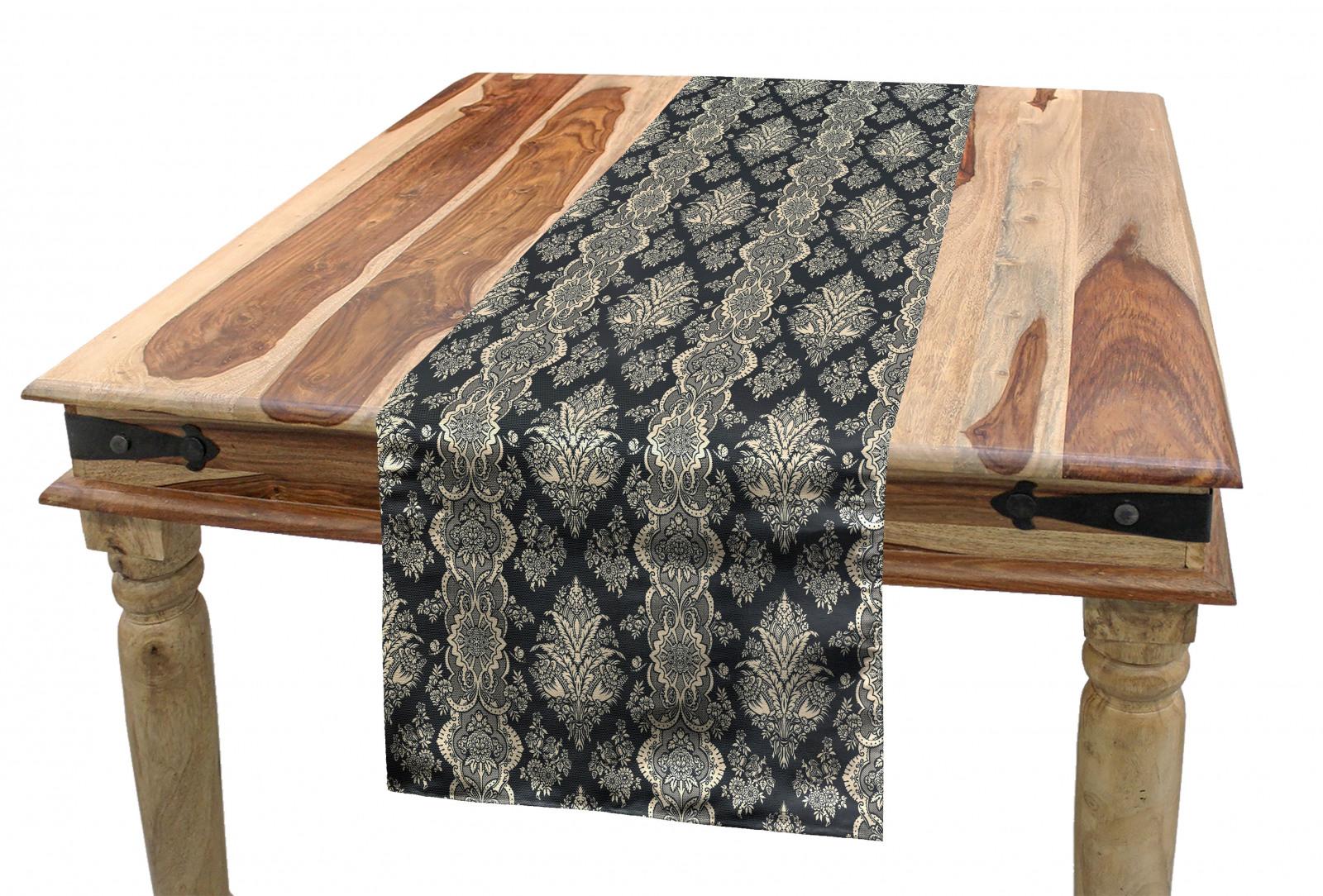 Damast Tischläufer Victorian Barock