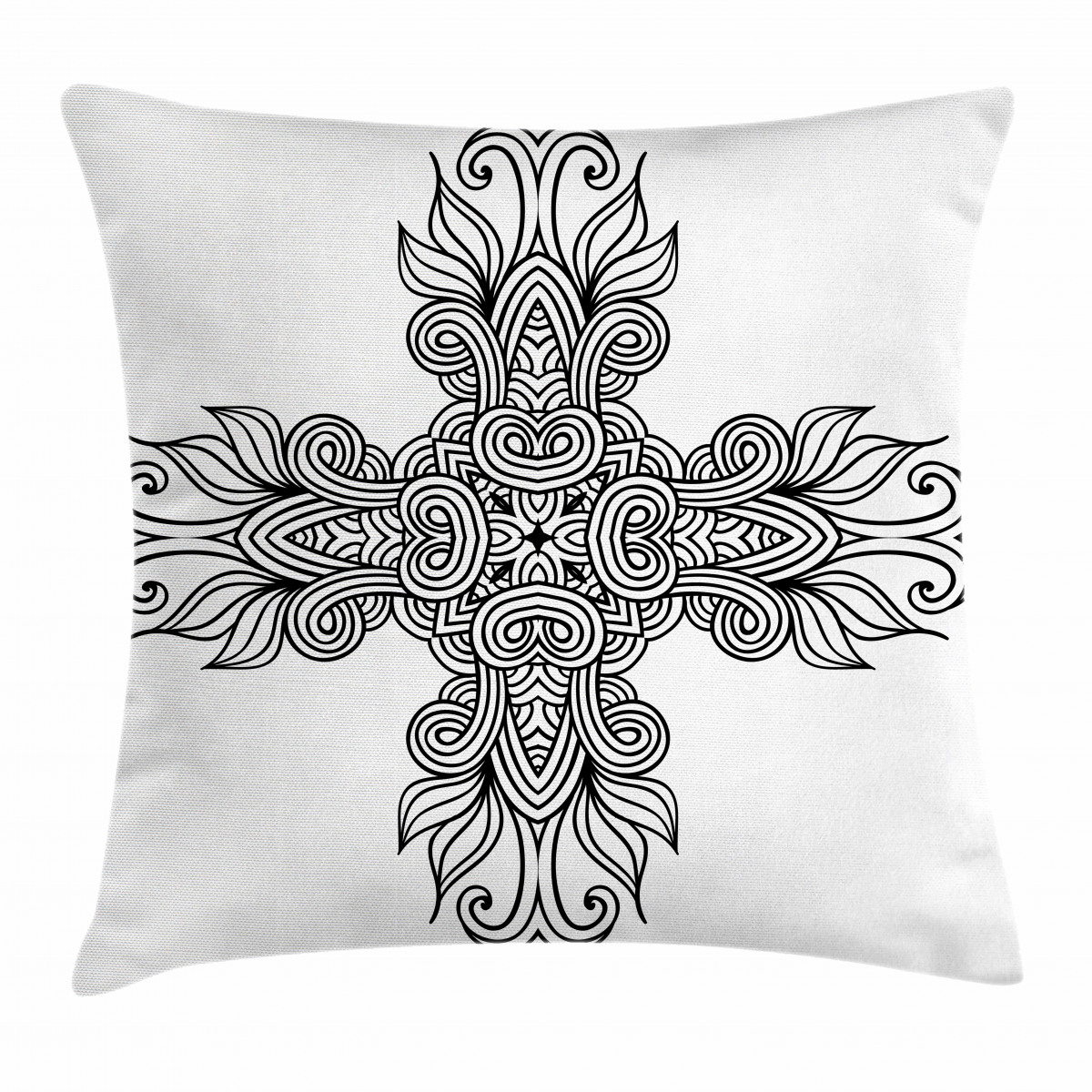 Royal Old Celtic Knot Pillow Cover