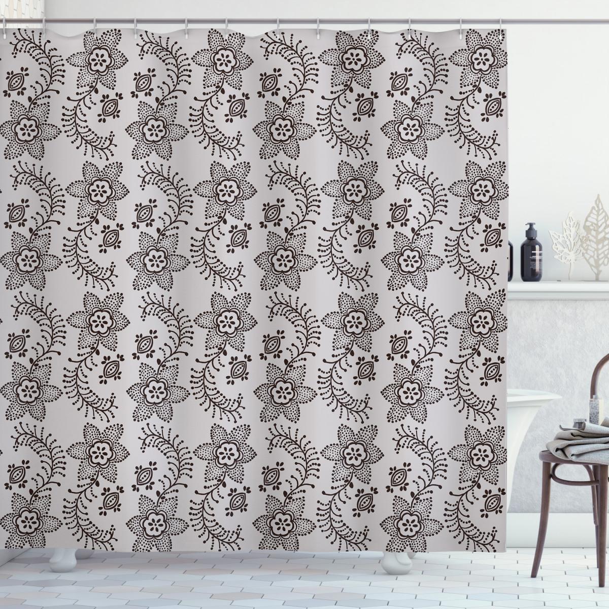 Russian Boho Shower Curtain