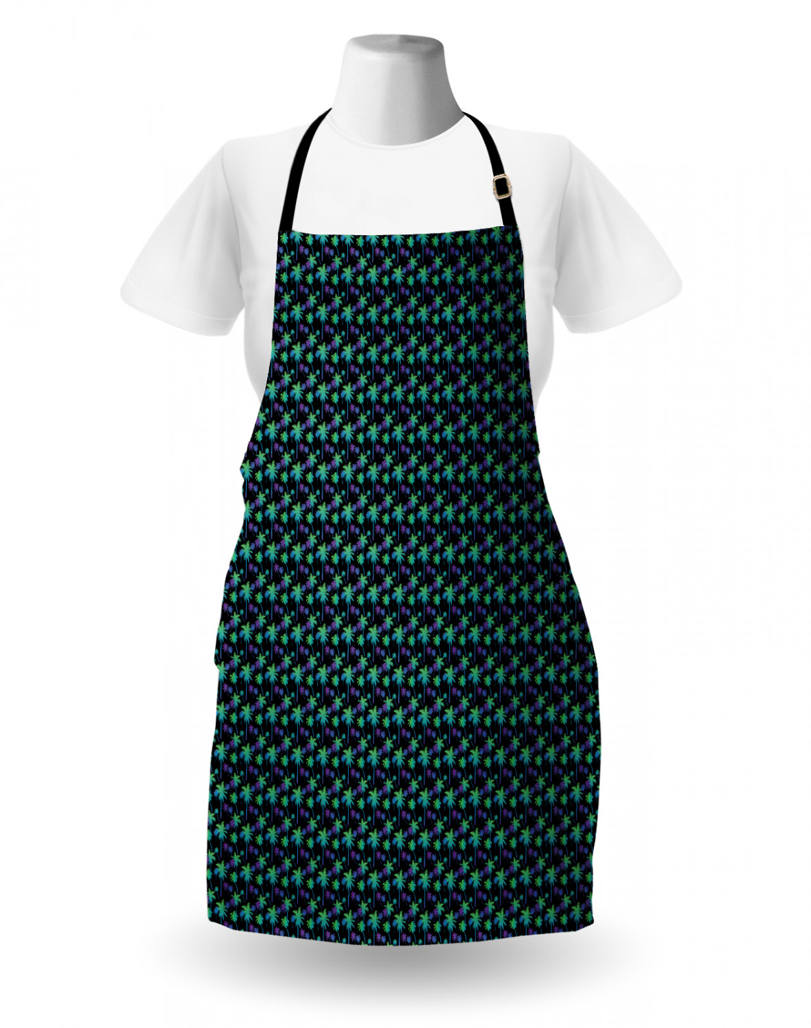 Details about  /Ambesonne Unisex Long Lasting Apron Adjustable Neck for Gardening and Cooking