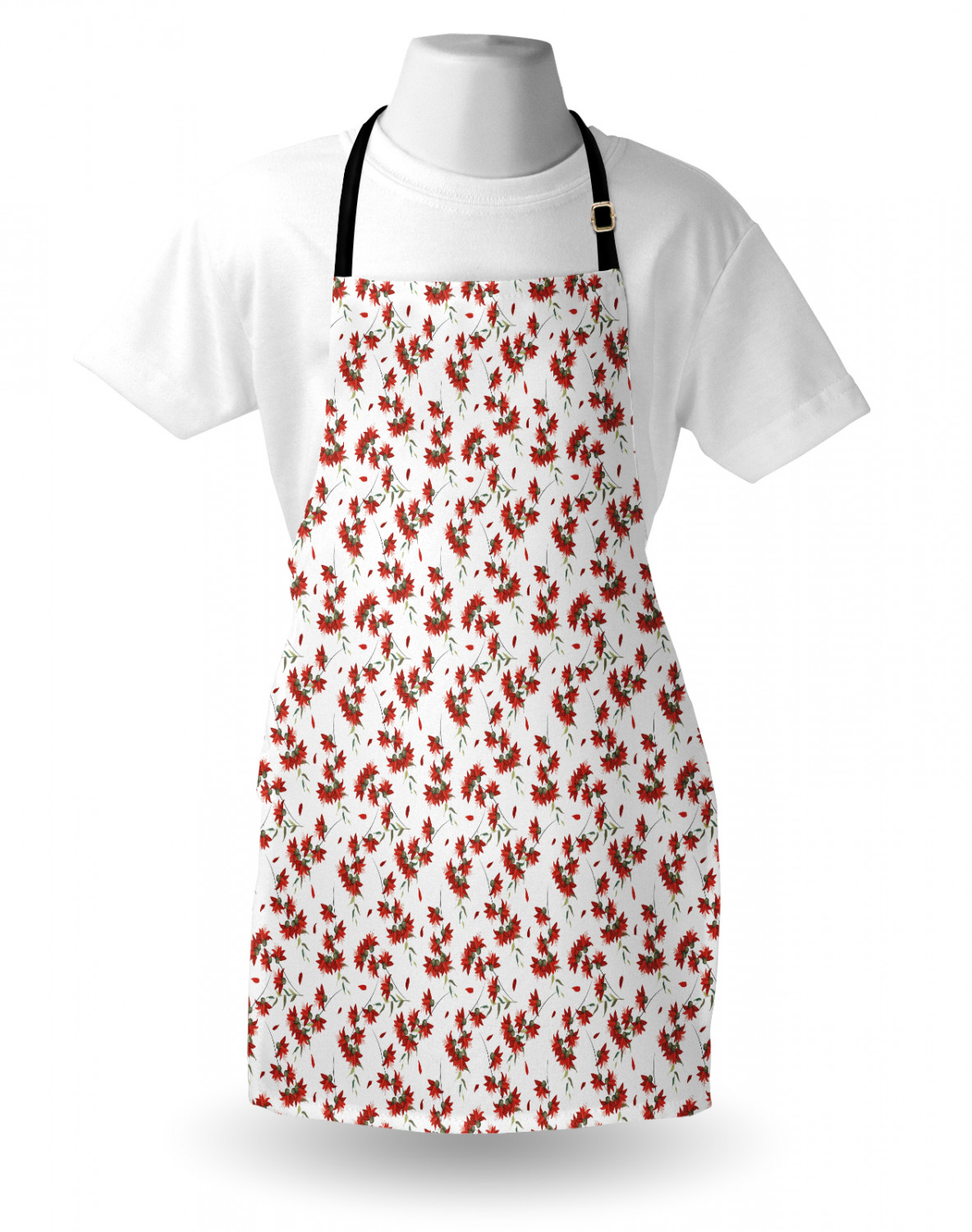 Ambesonne-Outdoor-Use-Apron-with-Adjustable-Neck-Strap-for-Gardening-and-Cooking miniatura 135