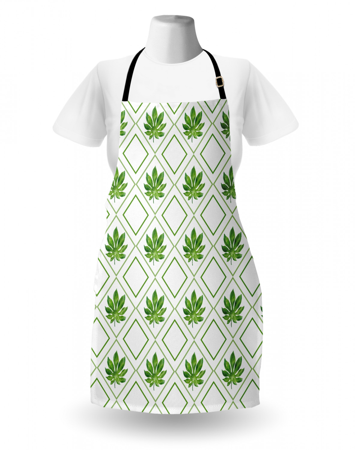 Ambesonne-Outdoor-Use-Apron-with-Adjustable-Neck-Strap-for-Gardening-and-Cooking miniatura 176