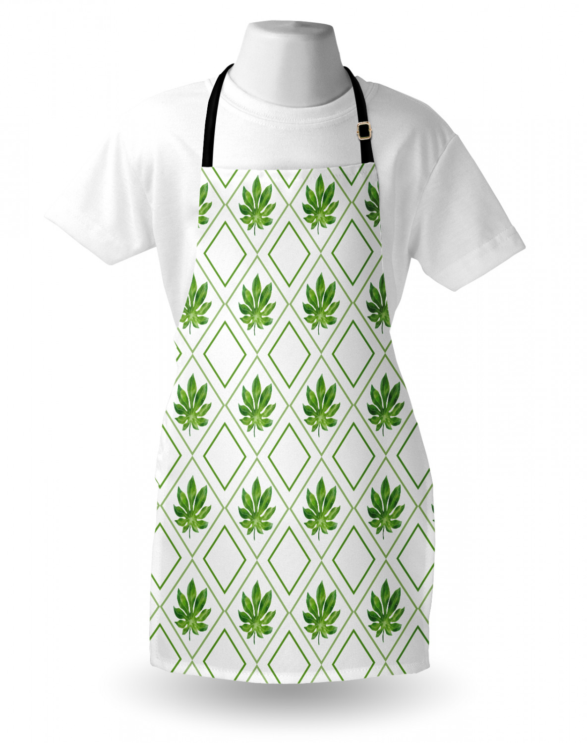 Ambesonne-Outdoor-Use-Apron-with-Adjustable-Neck-Strap-for-Gardening-and-Cooking miniatura 177