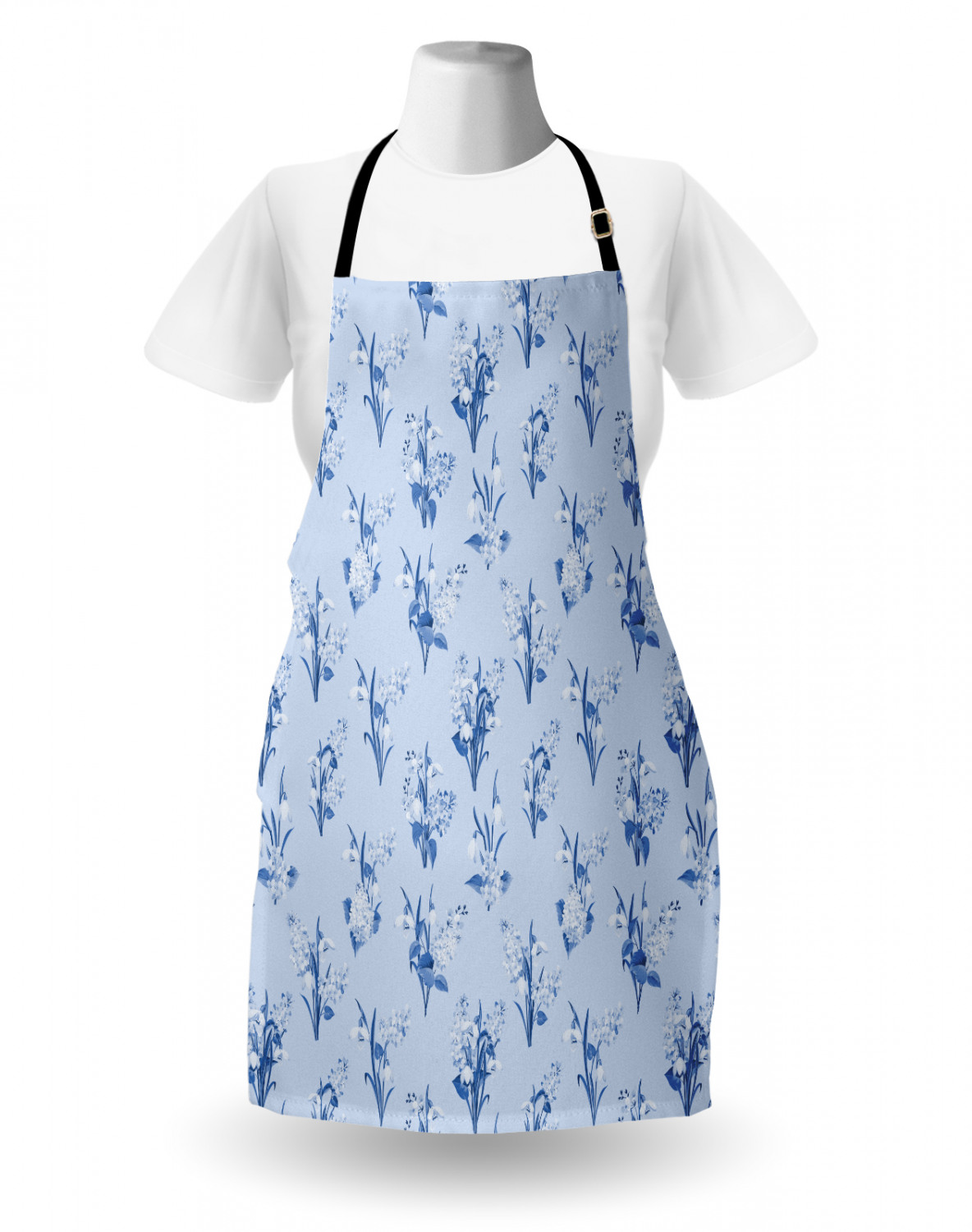 Ambesonne-Outdoor-Use-Apron-with-Adjustable-Neck-Strap-for-Gardening-and-Cooking miniatura 47