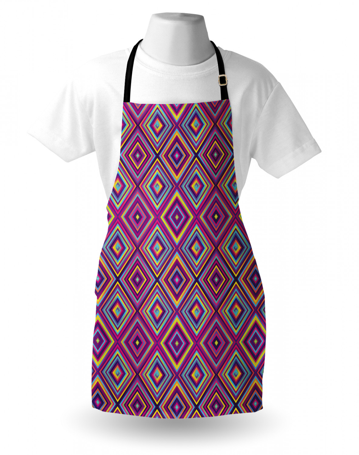Ambesonne-Outdoor-Use-Apron-with-Adjustable-Neck-Strap-for-Gardening-and-Cooking miniatura 42