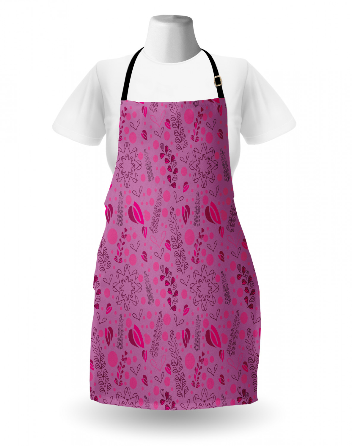 Ambesonne-Outdoor-Use-Apron-with-Adjustable-Neck-Strap-for-Gardening-and-Cooking miniatura 101