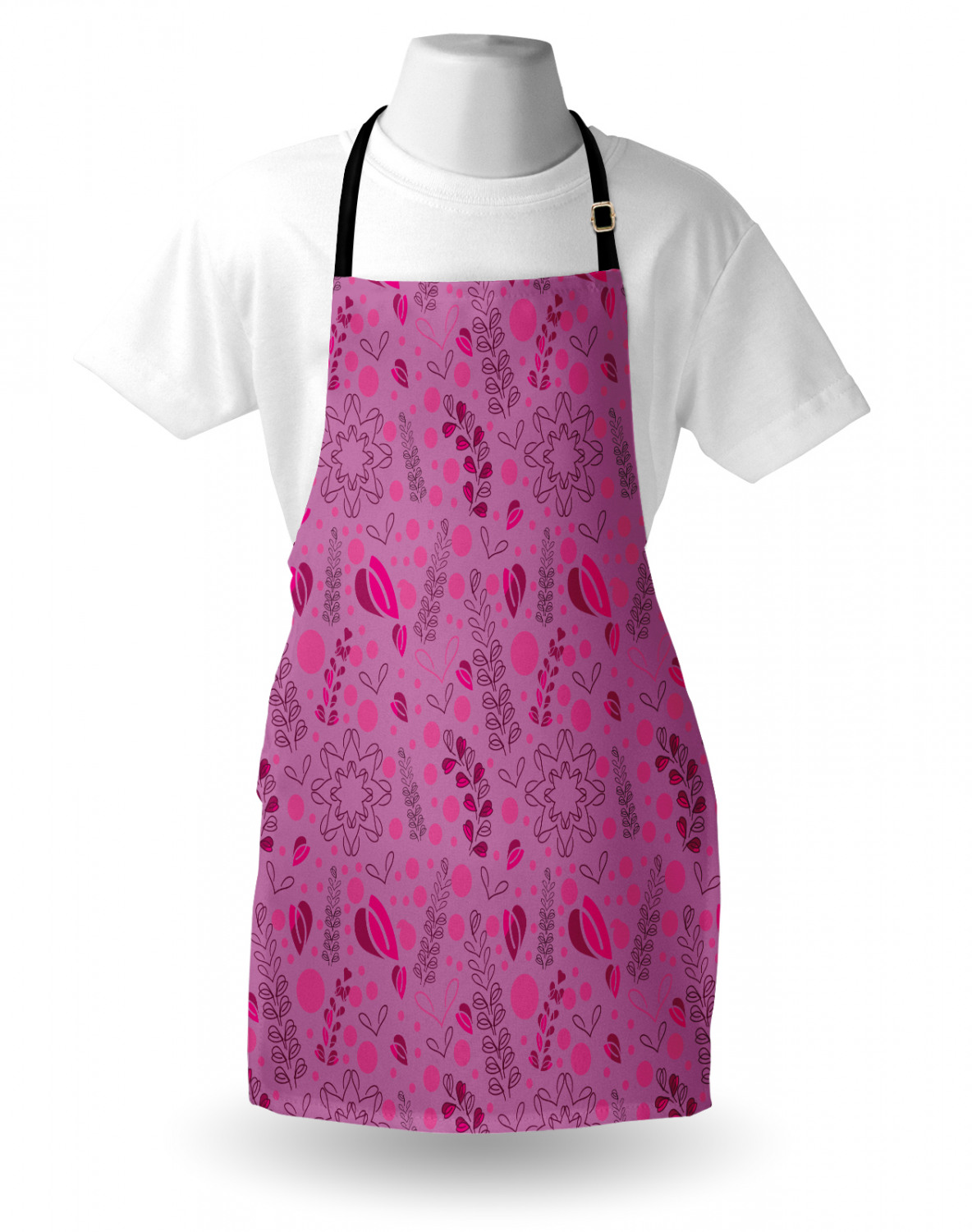 Ambesonne-Outdoor-Use-Apron-with-Adjustable-Neck-Strap-for-Gardening-and-Cooking miniatura 102