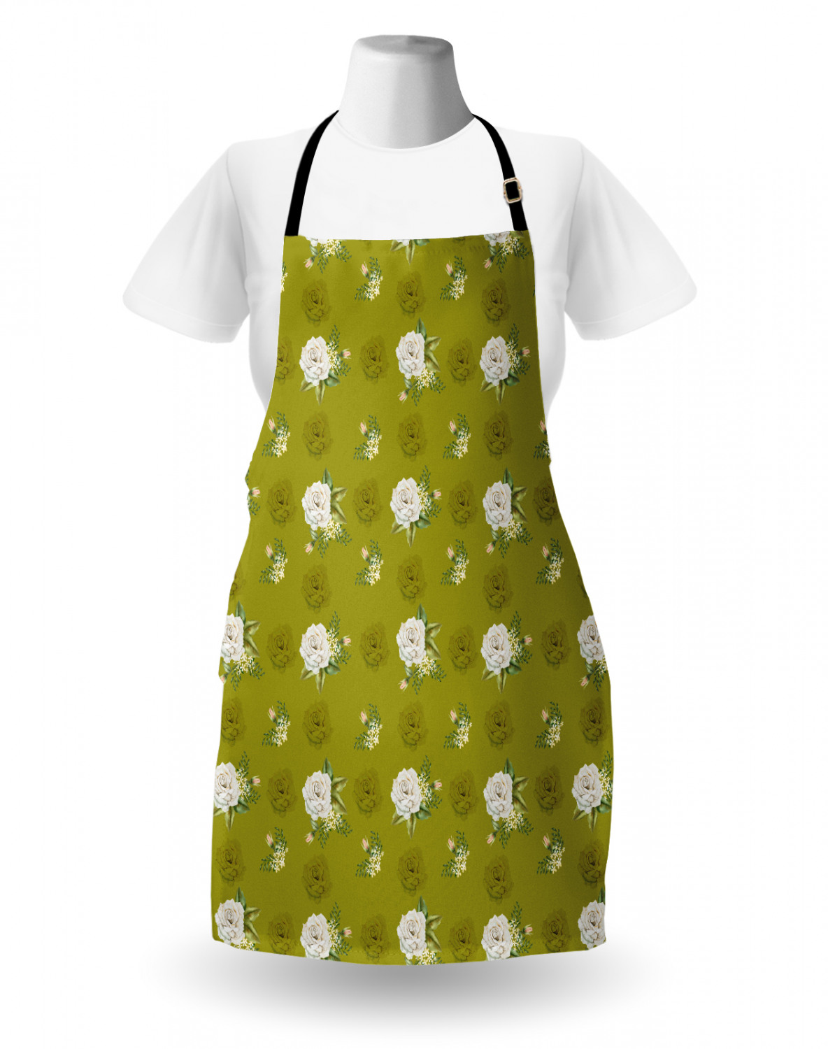 Ambesonne-Outdoor-Use-Apron-with-Adjustable-Neck-Strap-for-Gardening-and-Cooking miniatura 158
