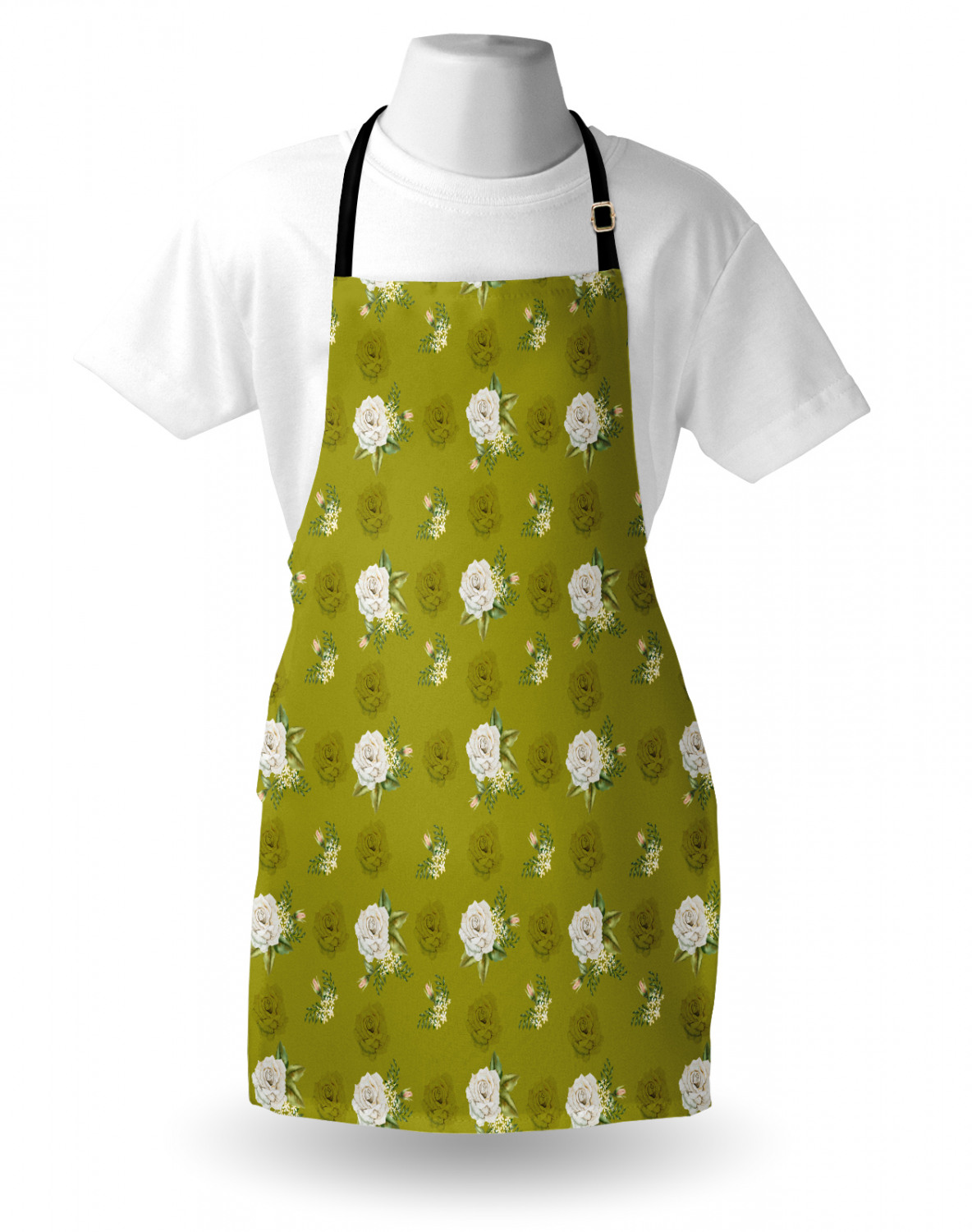 Ambesonne-Outdoor-Use-Apron-with-Adjustable-Neck-Strap-for-Gardening-and-Cooking miniatura 159