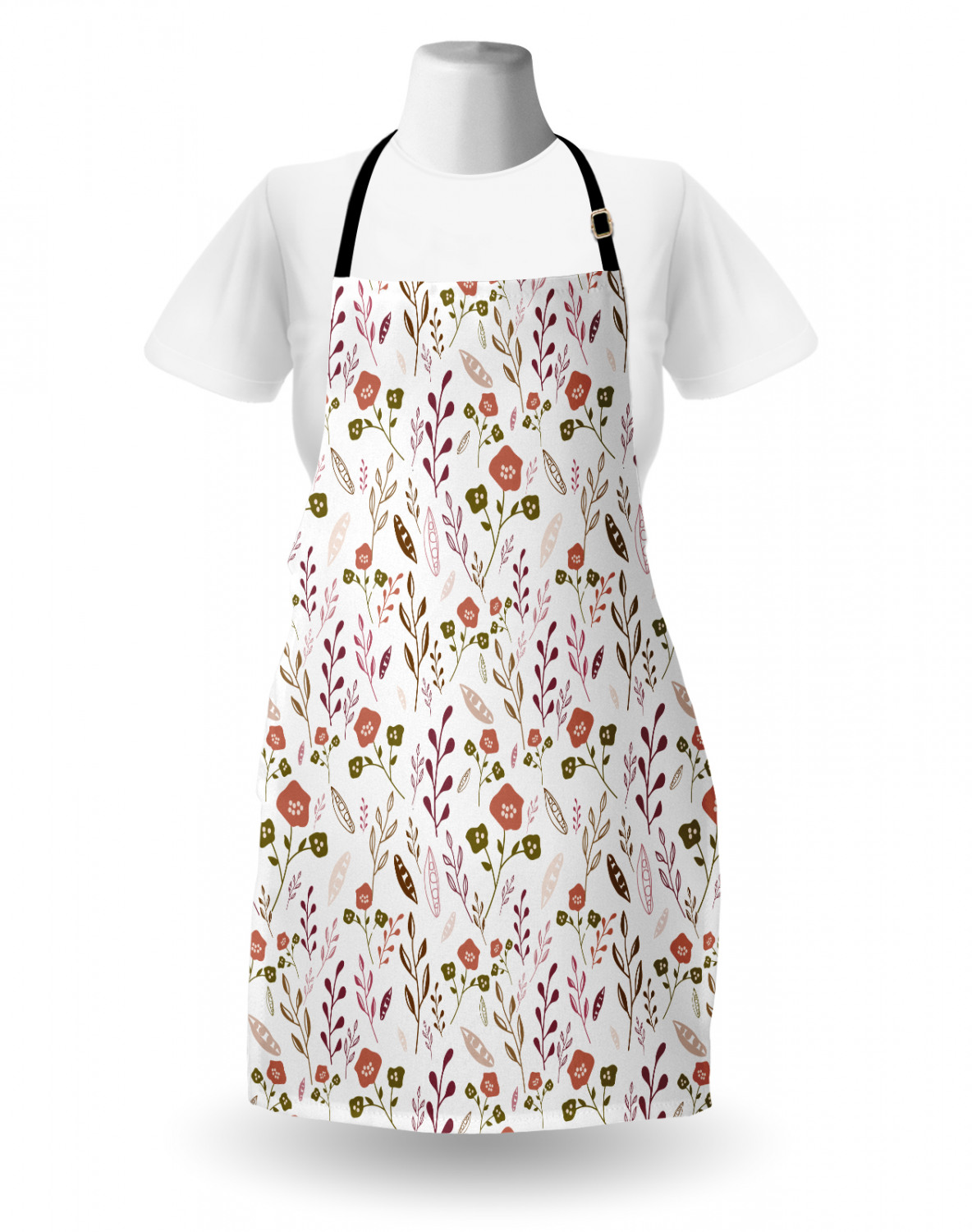 Ambesonne-Outdoor-Use-Apron-with-Adjustable-Neck-Strap-for-Gardening-and-Cooking miniatura 146