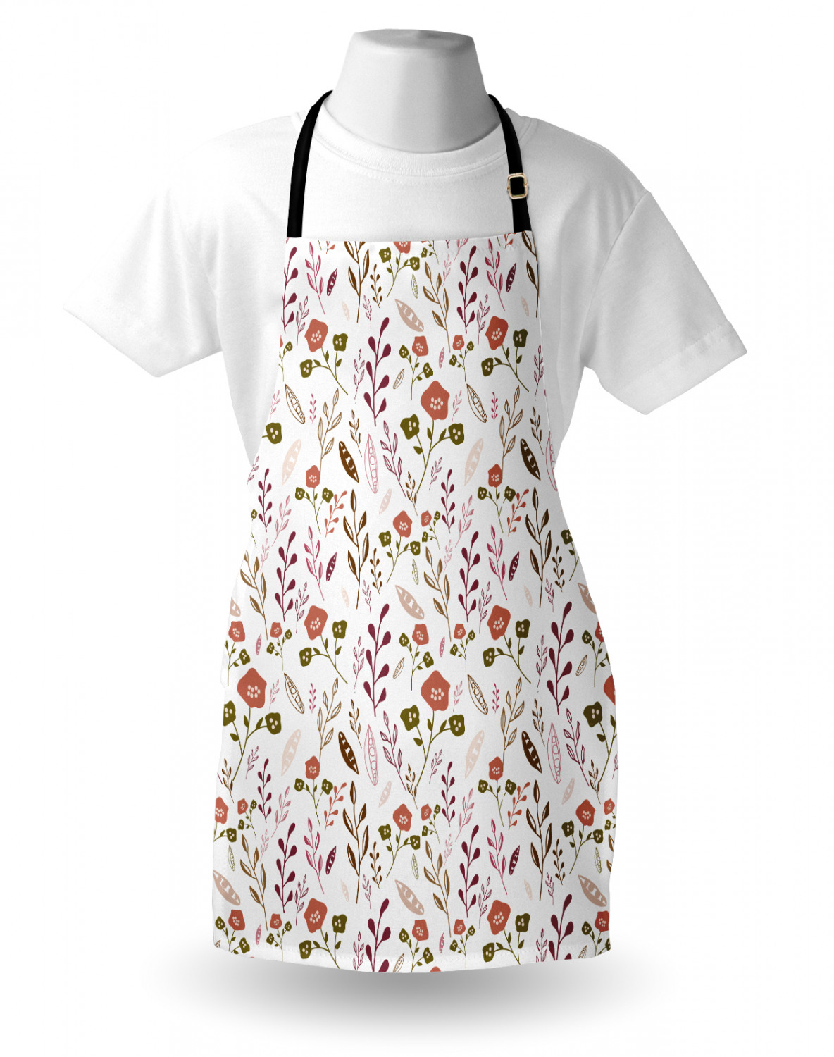 Ambesonne-Outdoor-Use-Apron-with-Adjustable-Neck-Strap-for-Gardening-and-Cooking miniatura 147