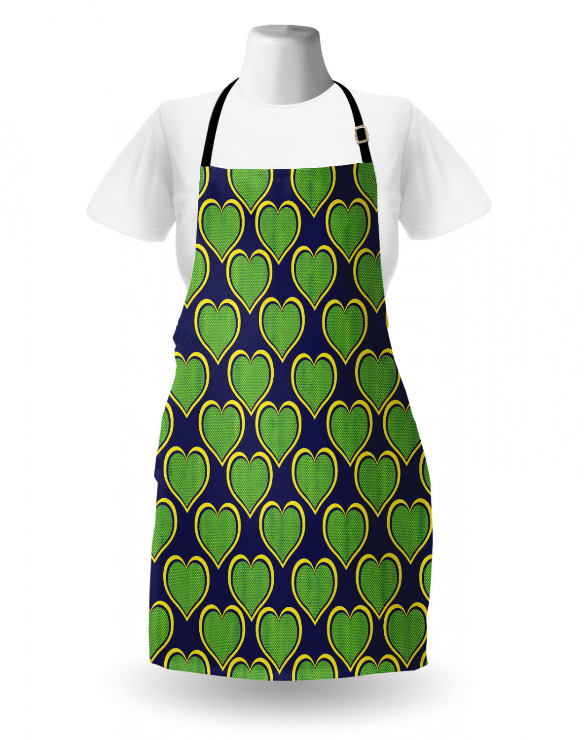 Ambesonne-Outdoor-Use-Apron-with-Adjustable-Neck-Strap-for-Gardening-and-Cooking miniatura 131