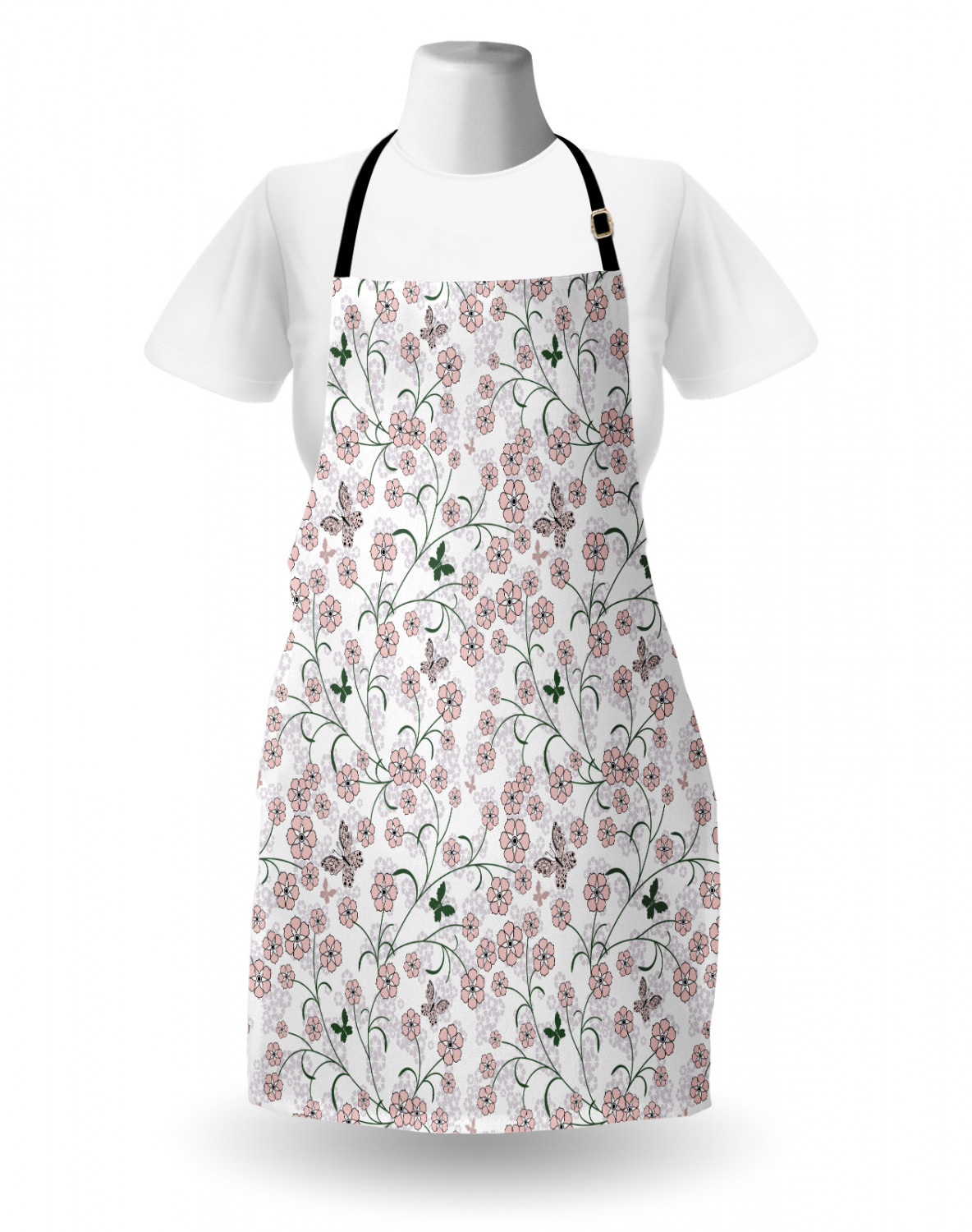 Ambesonne-Outdoor-Use-Apron-with-Adjustable-Neck-Strap-for-Gardening-and-Cooking miniatura 68