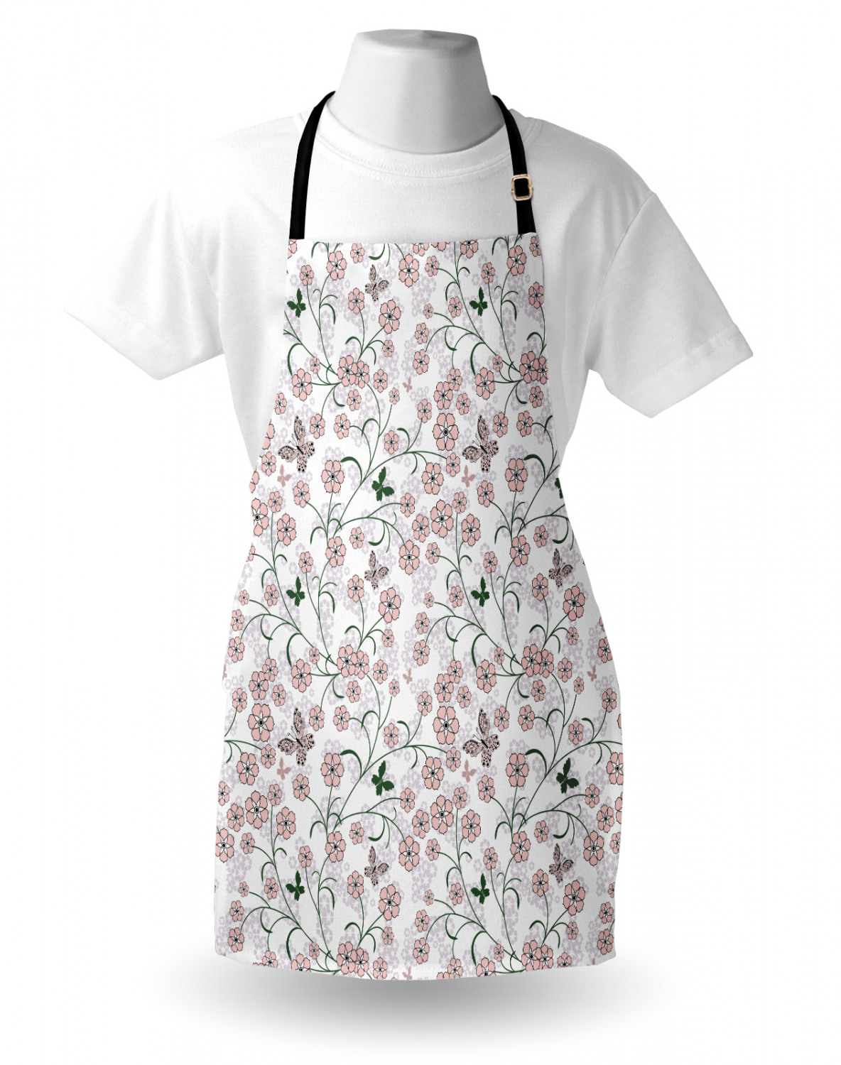 Ambesonne-Outdoor-Use-Apron-with-Adjustable-Neck-Strap-for-Gardening-and-Cooking miniatura 69