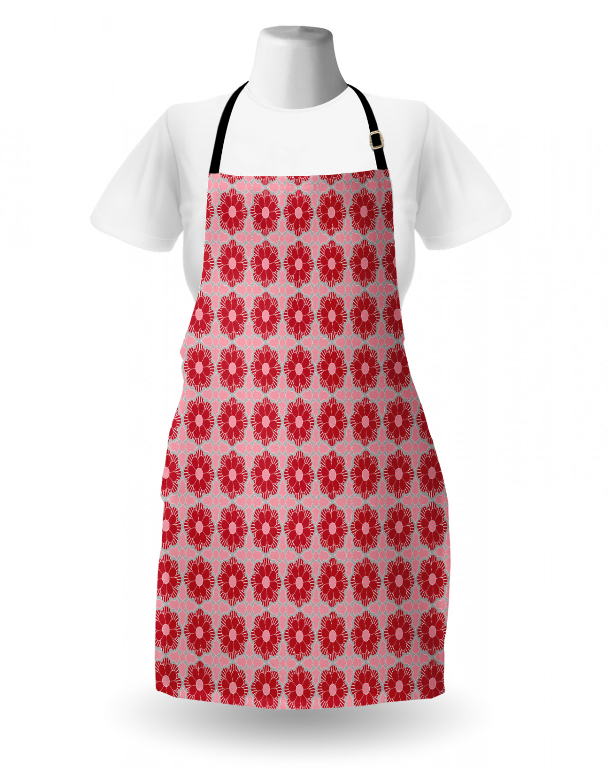 Ambesonne-Outdoor-Use-Apron-with-Adjustable-Neck-Strap-for-Gardening-and-Cooking miniatura 137