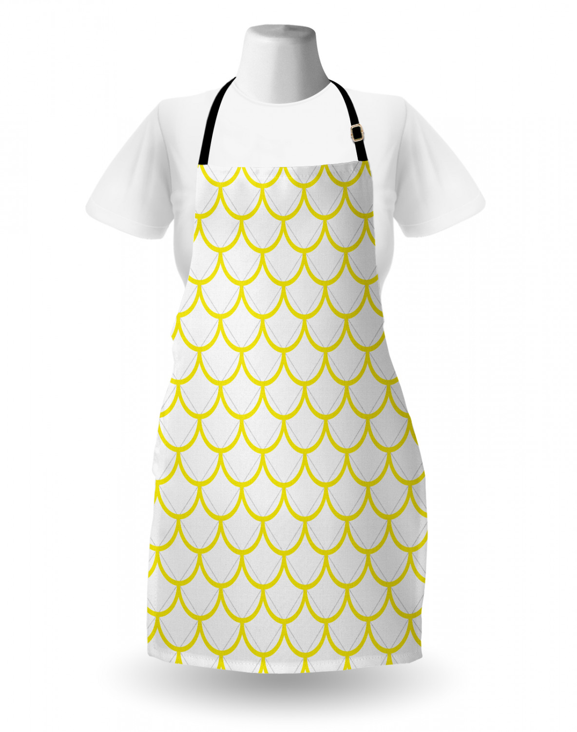 Ambesonne-Outdoor-Use-Apron-with-Adjustable-Neck-Strap-for-Gardening-and-Cooking miniatura 155