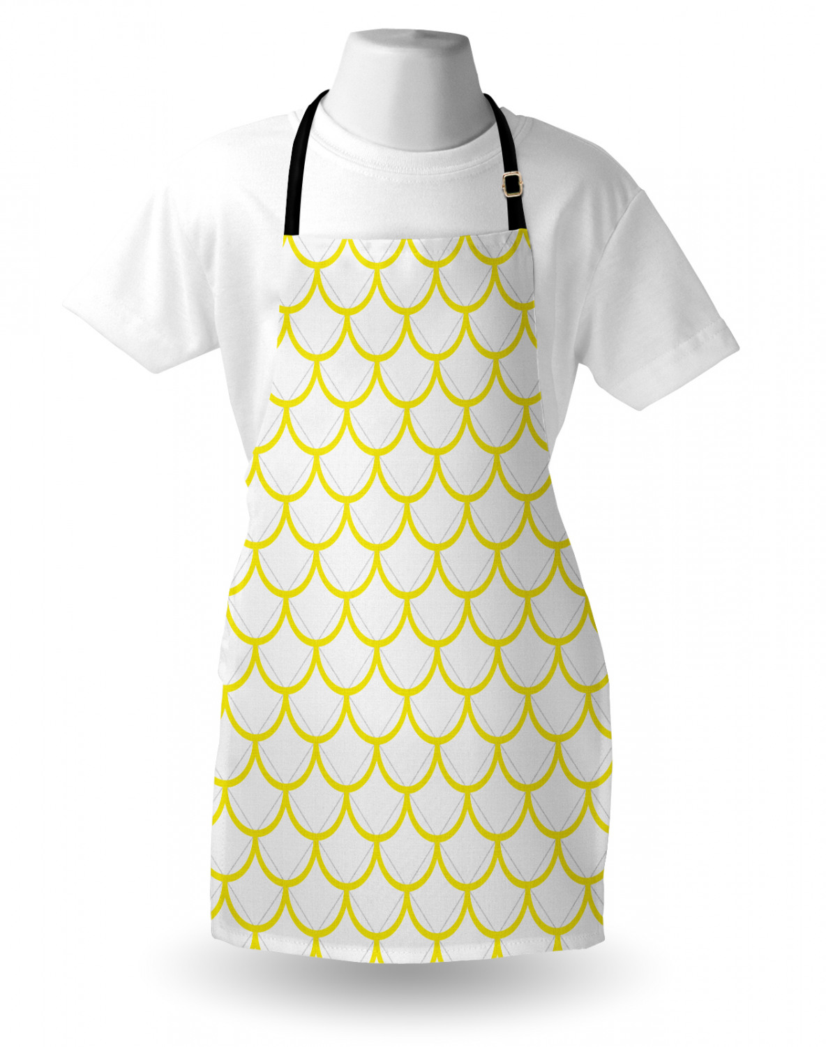 Ambesonne-Outdoor-Use-Apron-with-Adjustable-Neck-Strap-for-Gardening-and-Cooking miniatura 156
