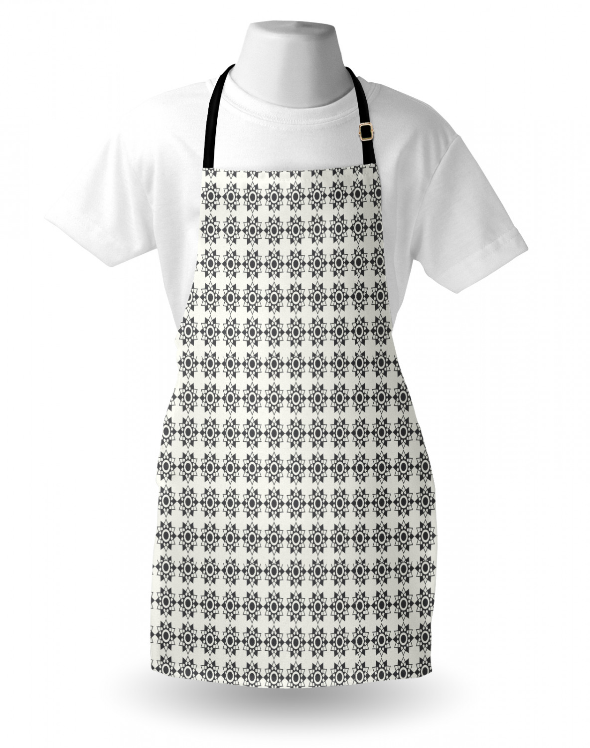 Ambesonne-Outdoor-Use-Apron-with-Adjustable-Neck-Strap-for-Gardening-and-Cooking miniatura 129