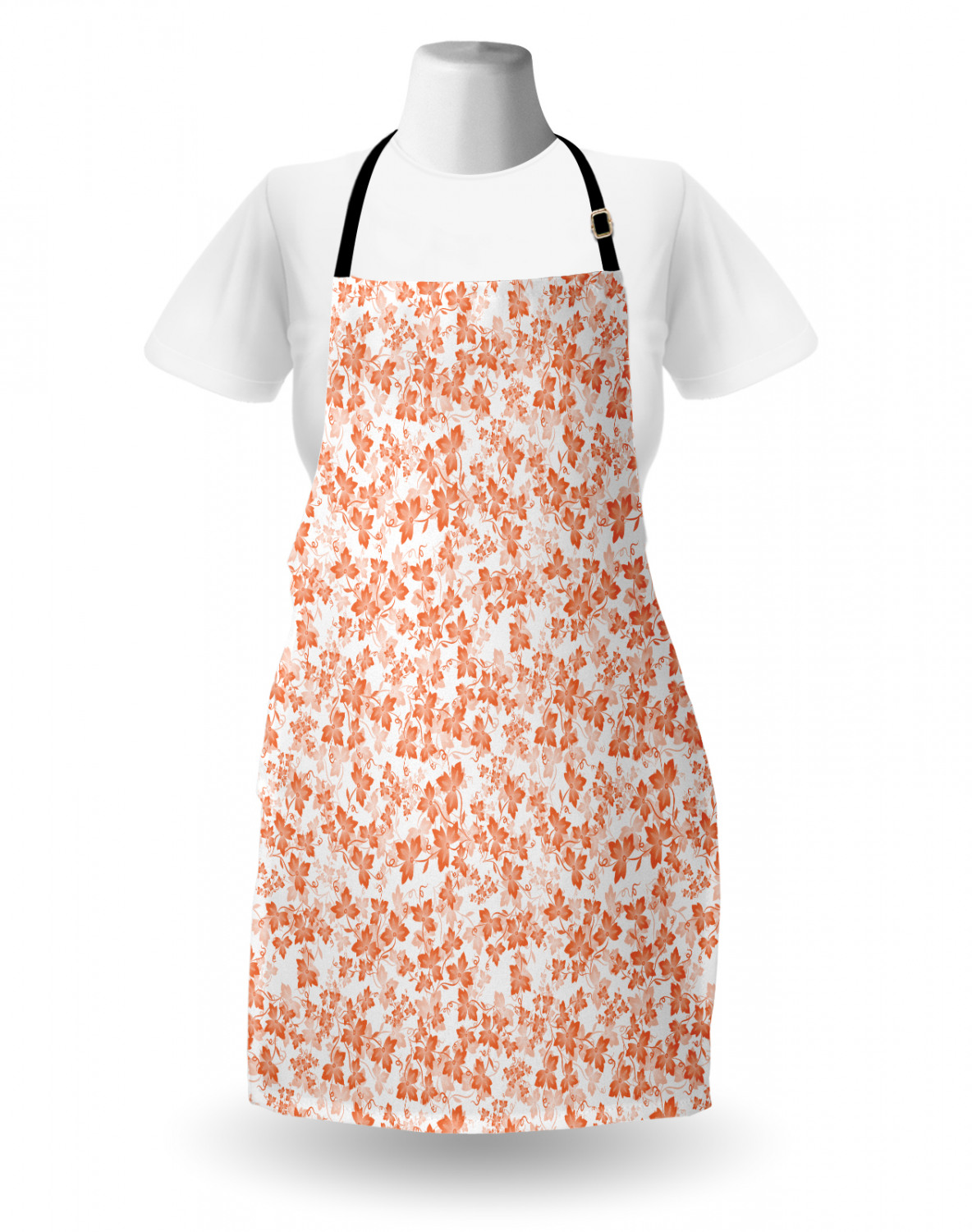Ambesonne-Outdoor-Use-Apron-with-Adjustable-Neck-Strap-for-Gardening-and-Cooking miniatura 56