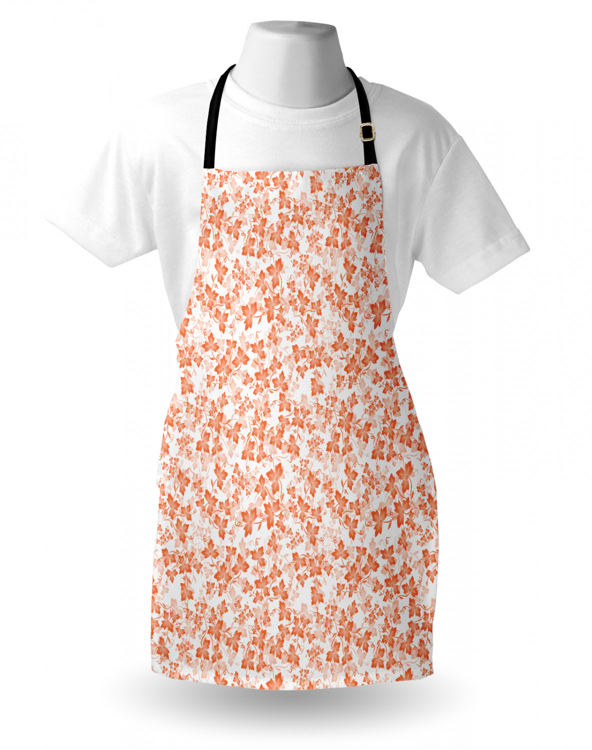 Ambesonne-Outdoor-Use-Apron-with-Adjustable-Neck-Strap-for-Gardening-and-Cooking miniatura 57