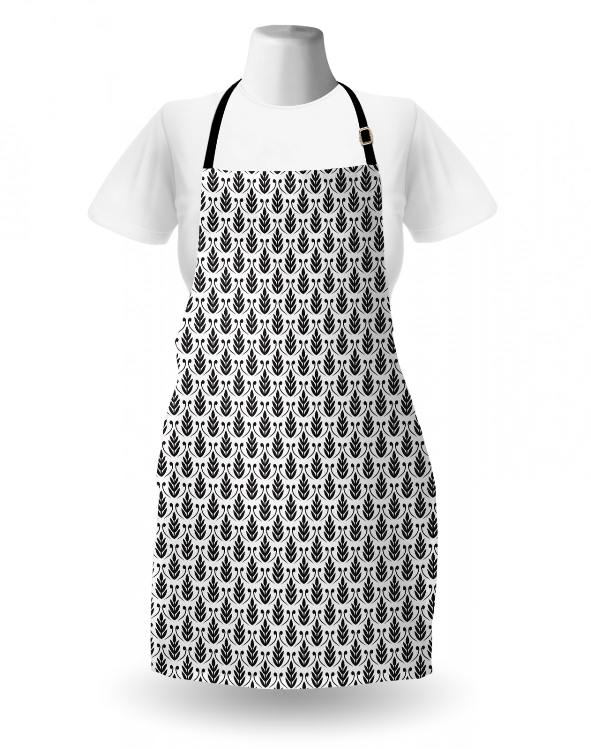 Ambesonne-Outdoor-Use-Apron-with-Adjustable-Neck-Strap-for-Gardening-and-Cooking miniatura 110