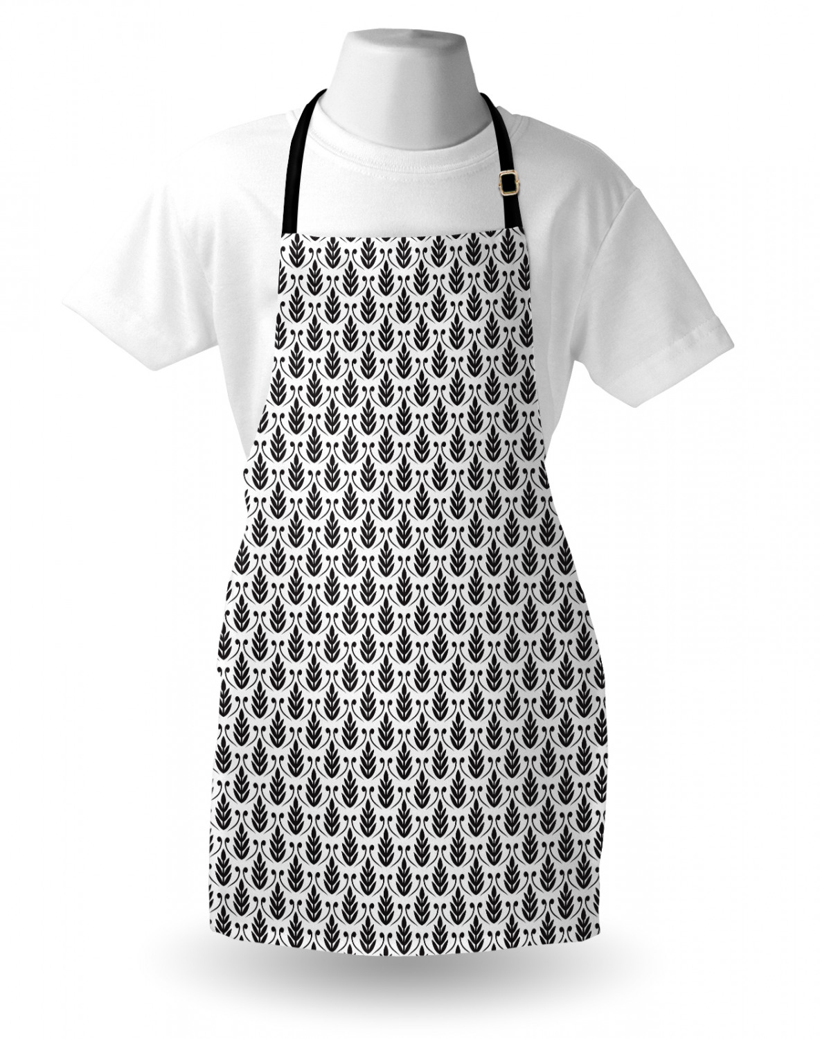 Ambesonne-Outdoor-Use-Apron-with-Adjustable-Neck-Strap-for-Gardening-and-Cooking miniatura 111