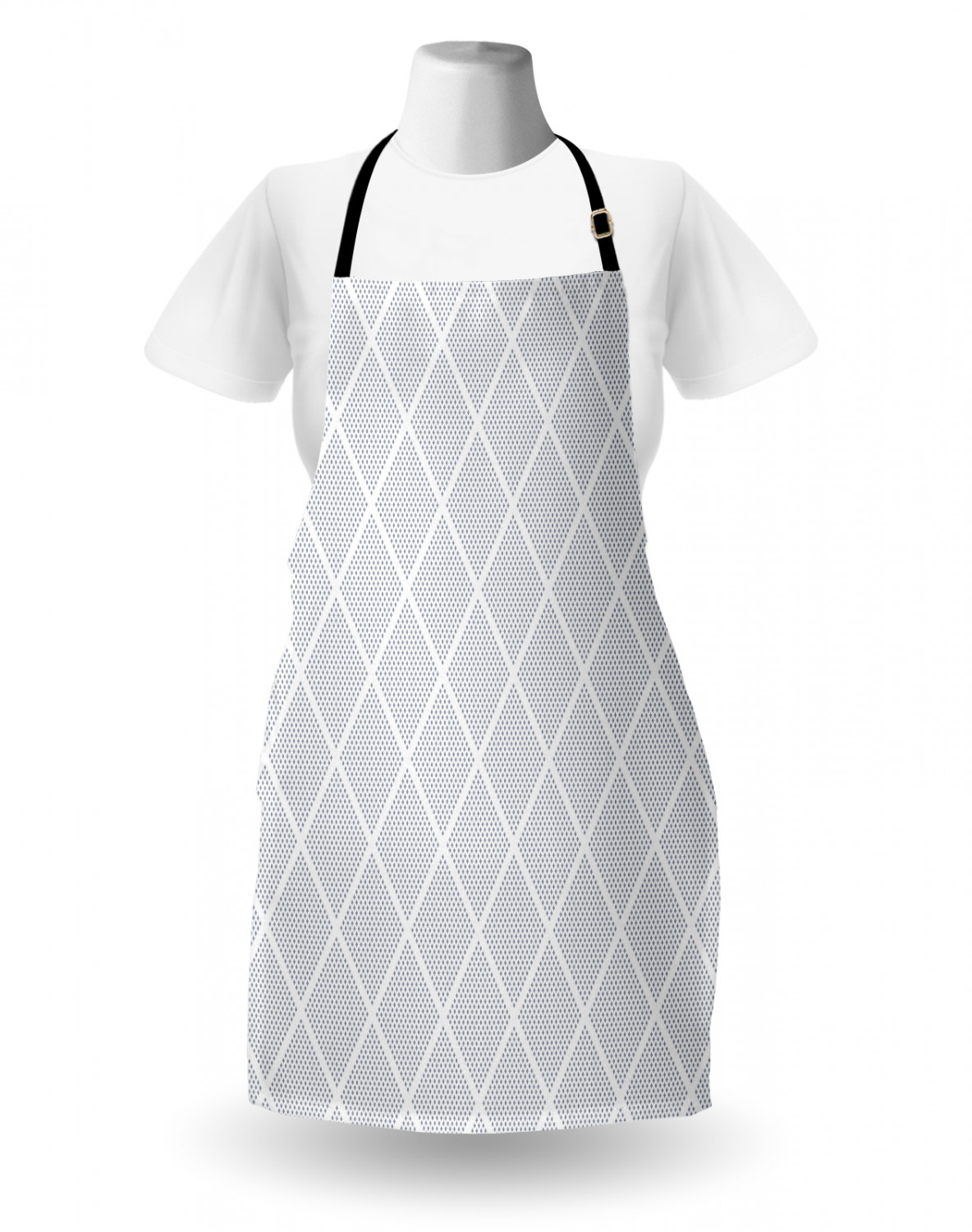 Ambesonne-Outdoor-Use-Apron-with-Adjustable-Neck-Strap-for-Gardening-and-Cooking miniatura 50