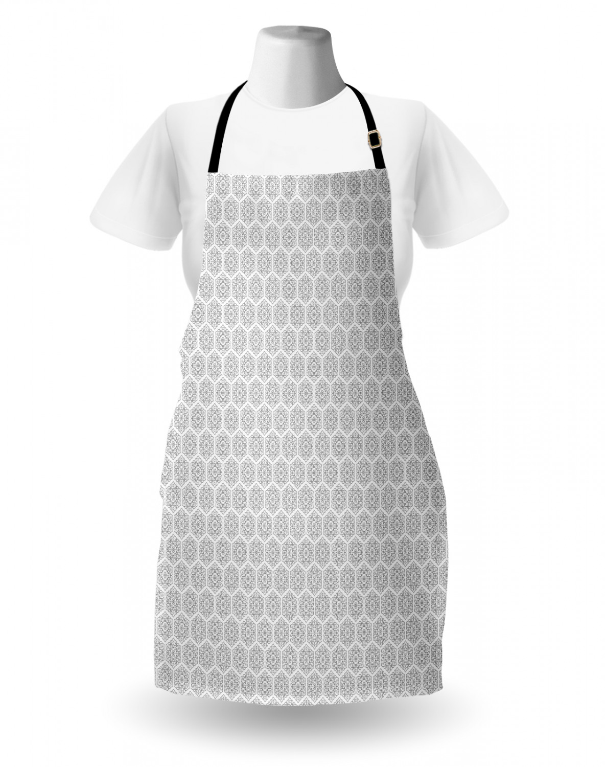 Ambesonne-Outdoor-Use-Apron-with-Adjustable-Neck-Strap-for-Gardening-and-Cooking miniatura 95