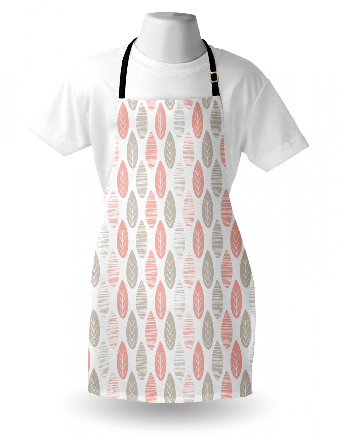 Ambesonne-Outdoor-Use-Apron-with-Adjustable-Neck-Strap-for-Gardening-and-Cooking miniatura 21