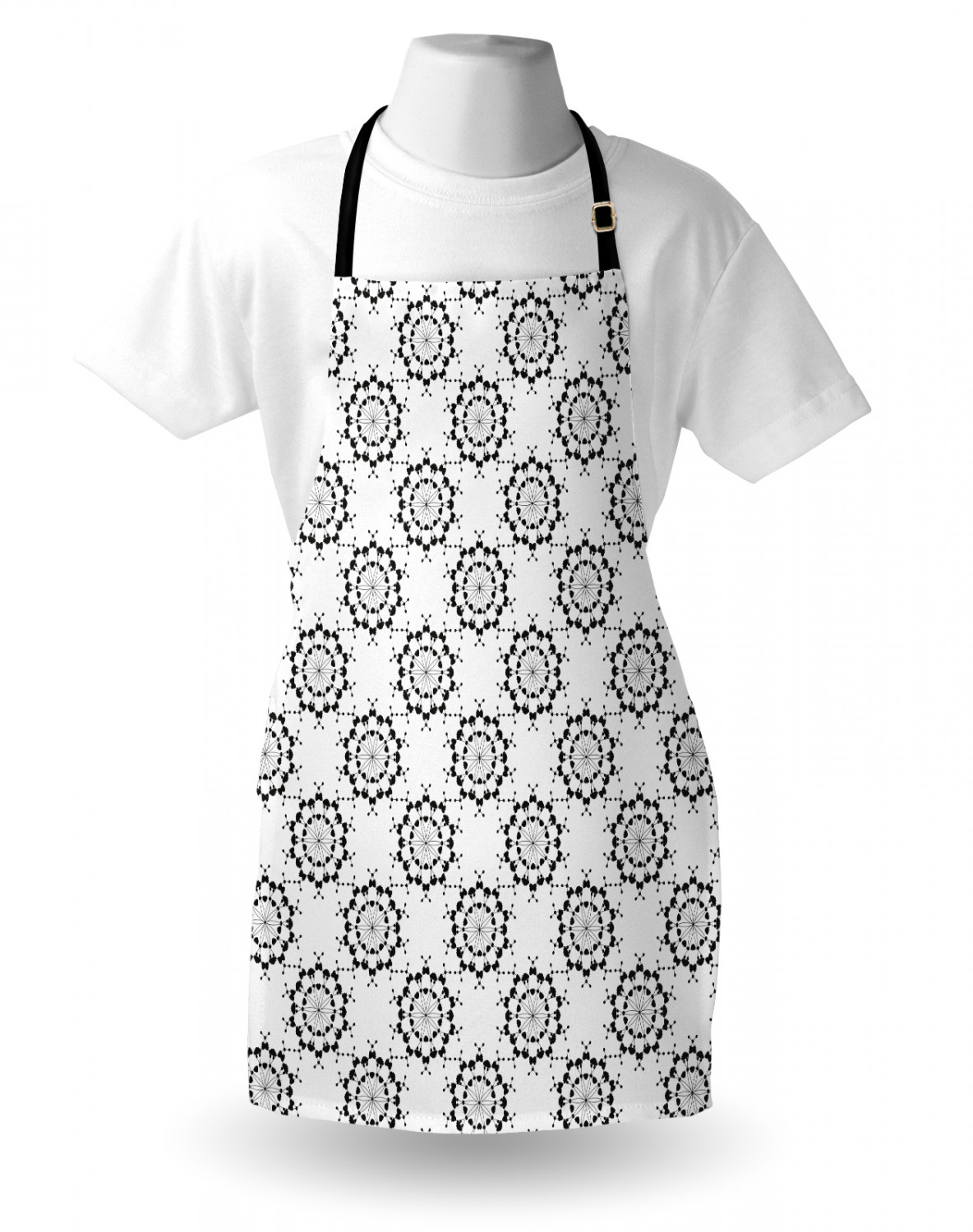 Ambesonne-Outdoor-Use-Apron-with-Adjustable-Neck-Strap-for-Gardening-and-Cooking miniatura 162