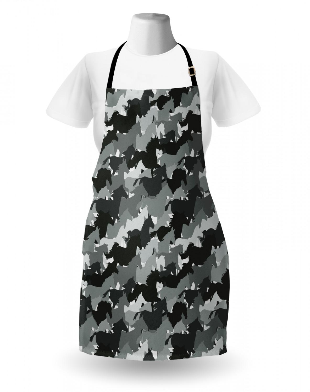 English-Bulldog-Apron-Unisex-Kitchen-Bib-with-Adjustable-Neck-for-Cooking-Baking 縮圖 122