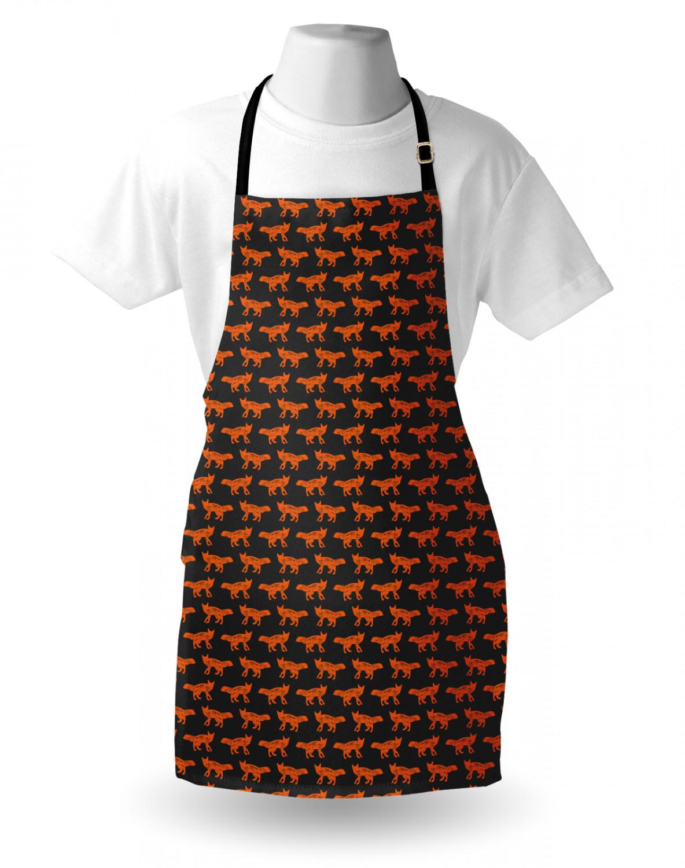 English-Bulldog-Apron-Unisex-Kitchen-Bib-with-Adjustable-Neck-for-Cooking-Baking 縮圖 81