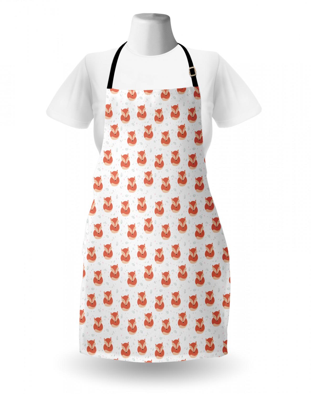 English-Bulldog-Apron-Unisex-Kitchen-Bib-with-Adjustable-Neck-for-Cooking-Baking 縮圖 179